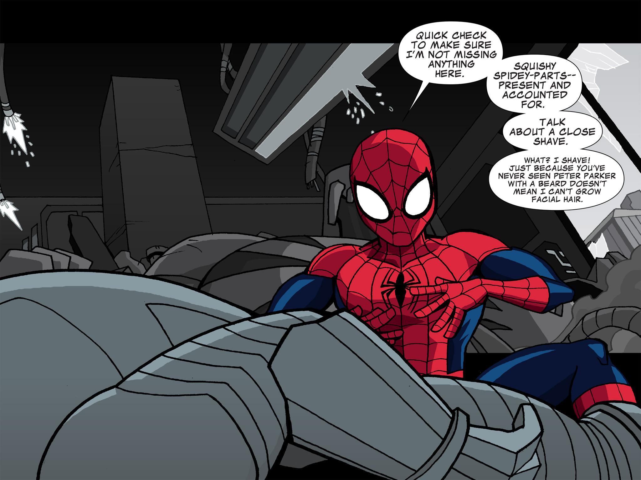 Read online Ultimate Spider-Man (Infinite Comics) (2015) comic -  Issue #5 - 7