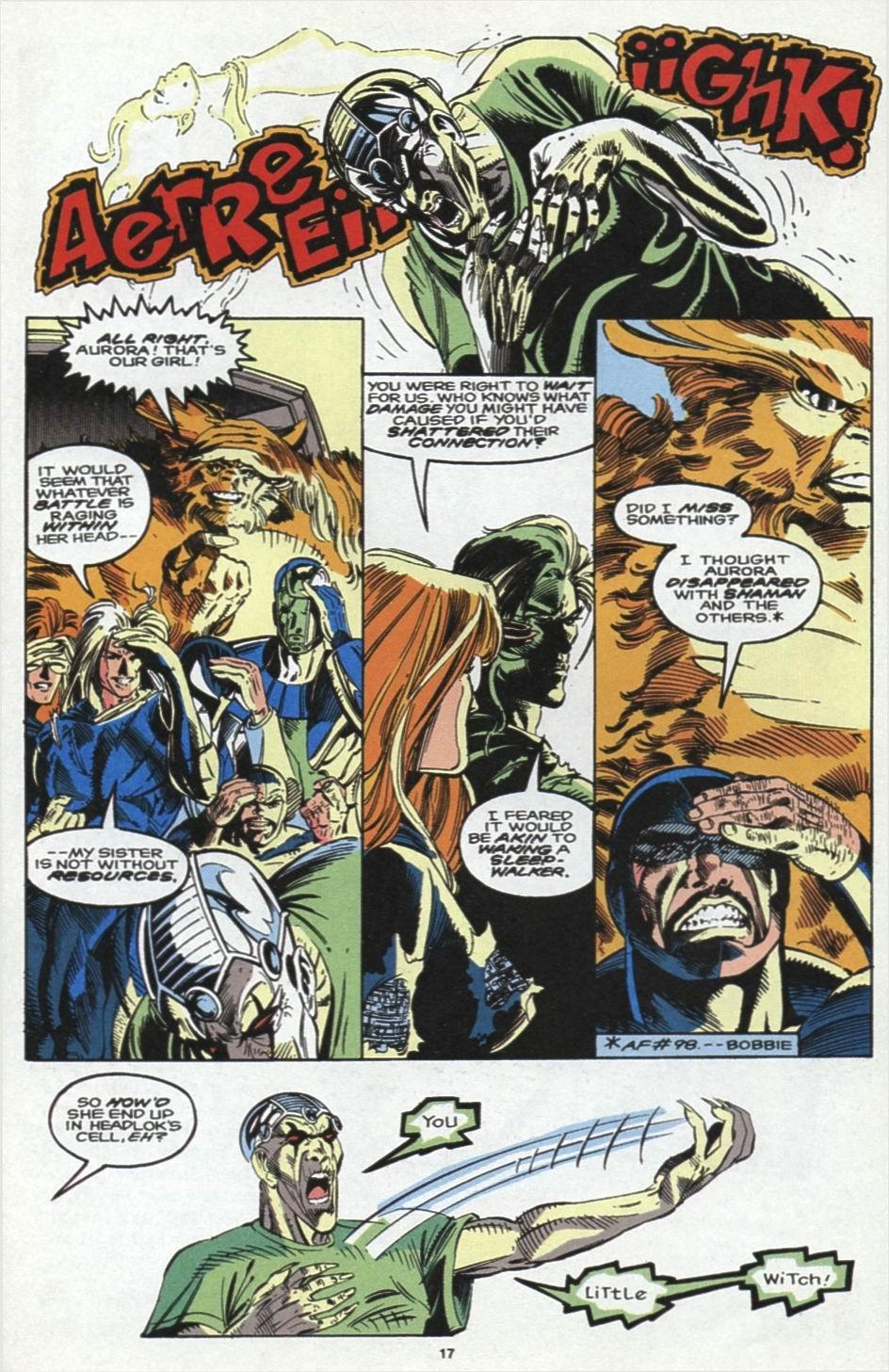 Read online Alpha Flight (1983) comic -  Issue #104 - 15