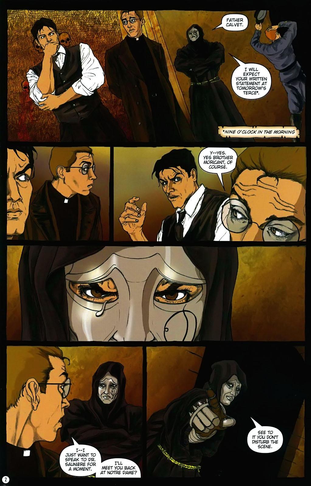 Read online Rex Mundi comic -  Issue #15 - 6