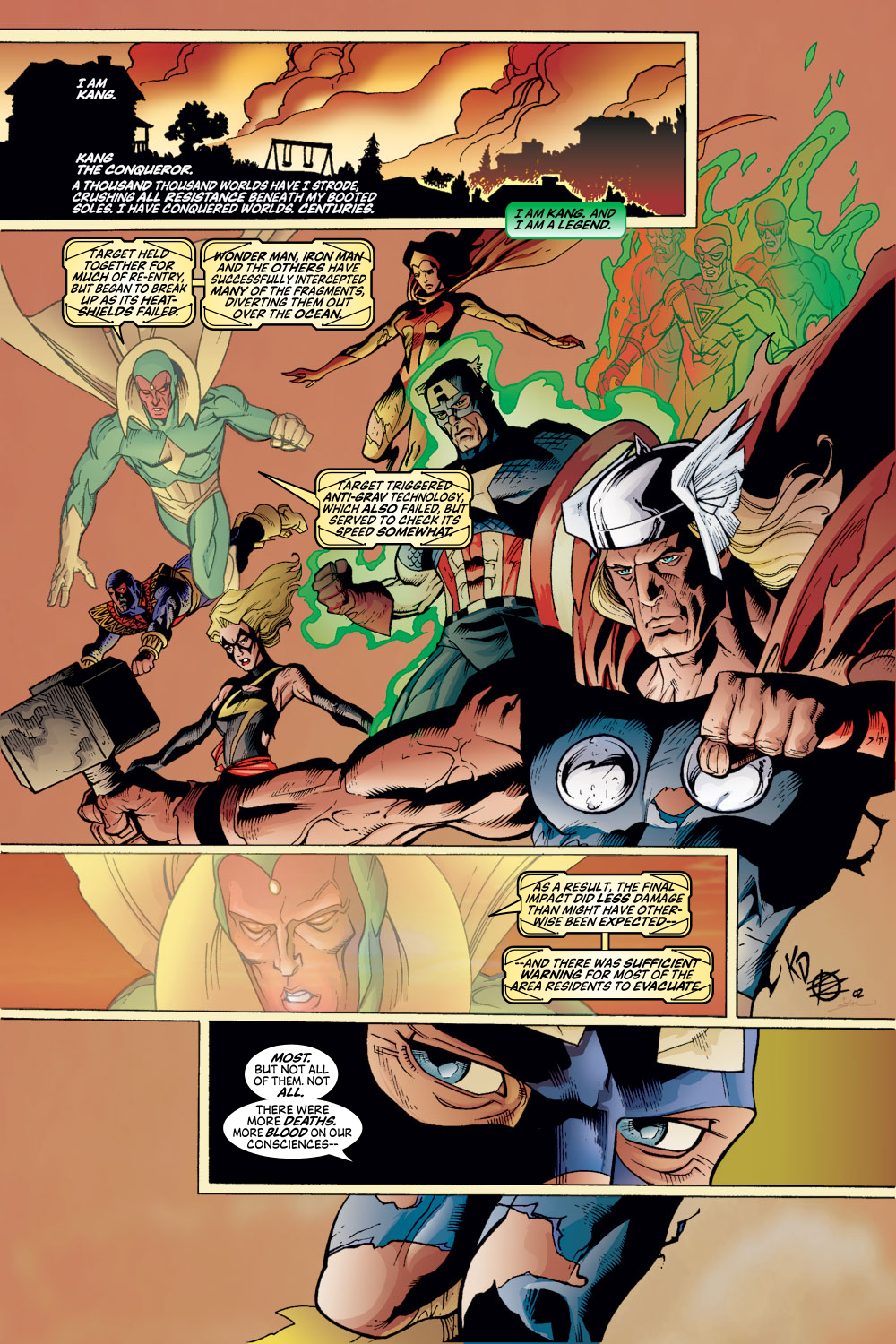 Read online Avengers (1998) comic -  Issue #54 - 2