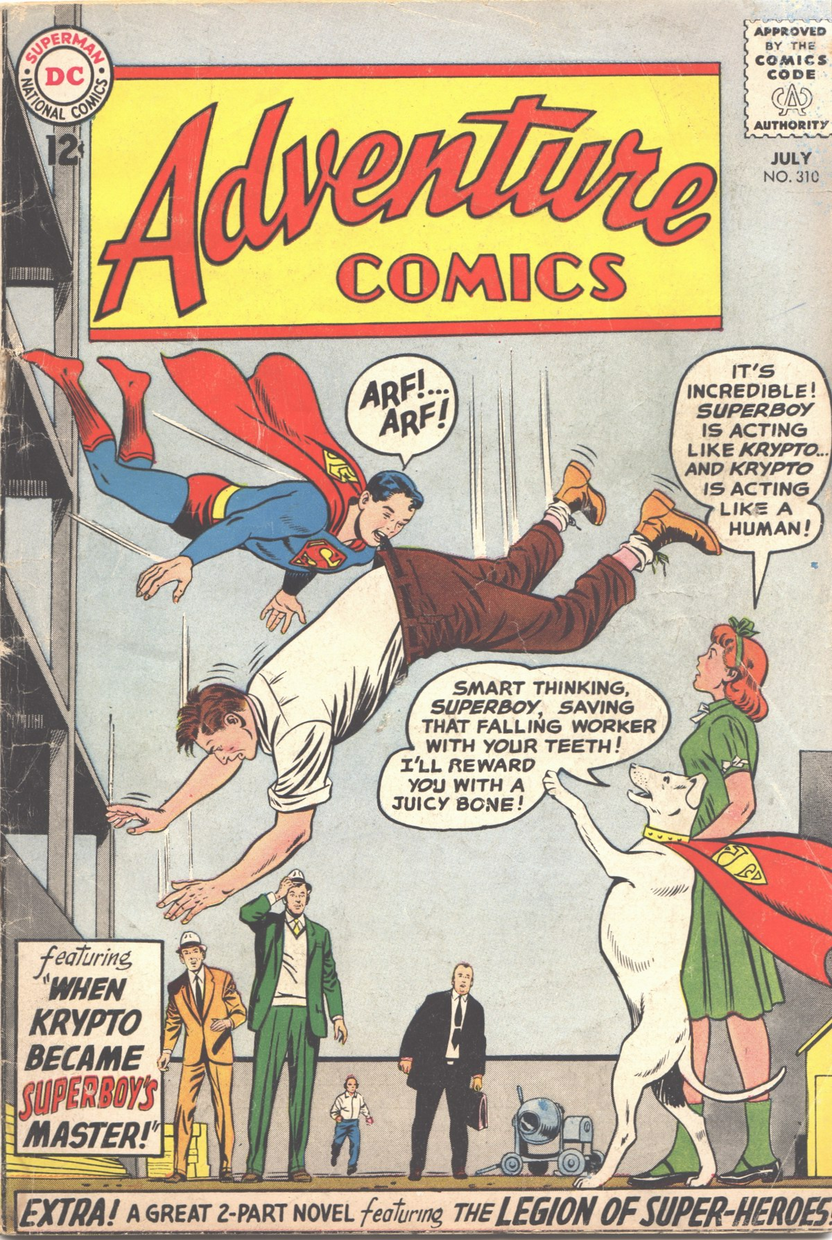 Read online Adventure Comics (1938) comic -  Issue #310 - 1