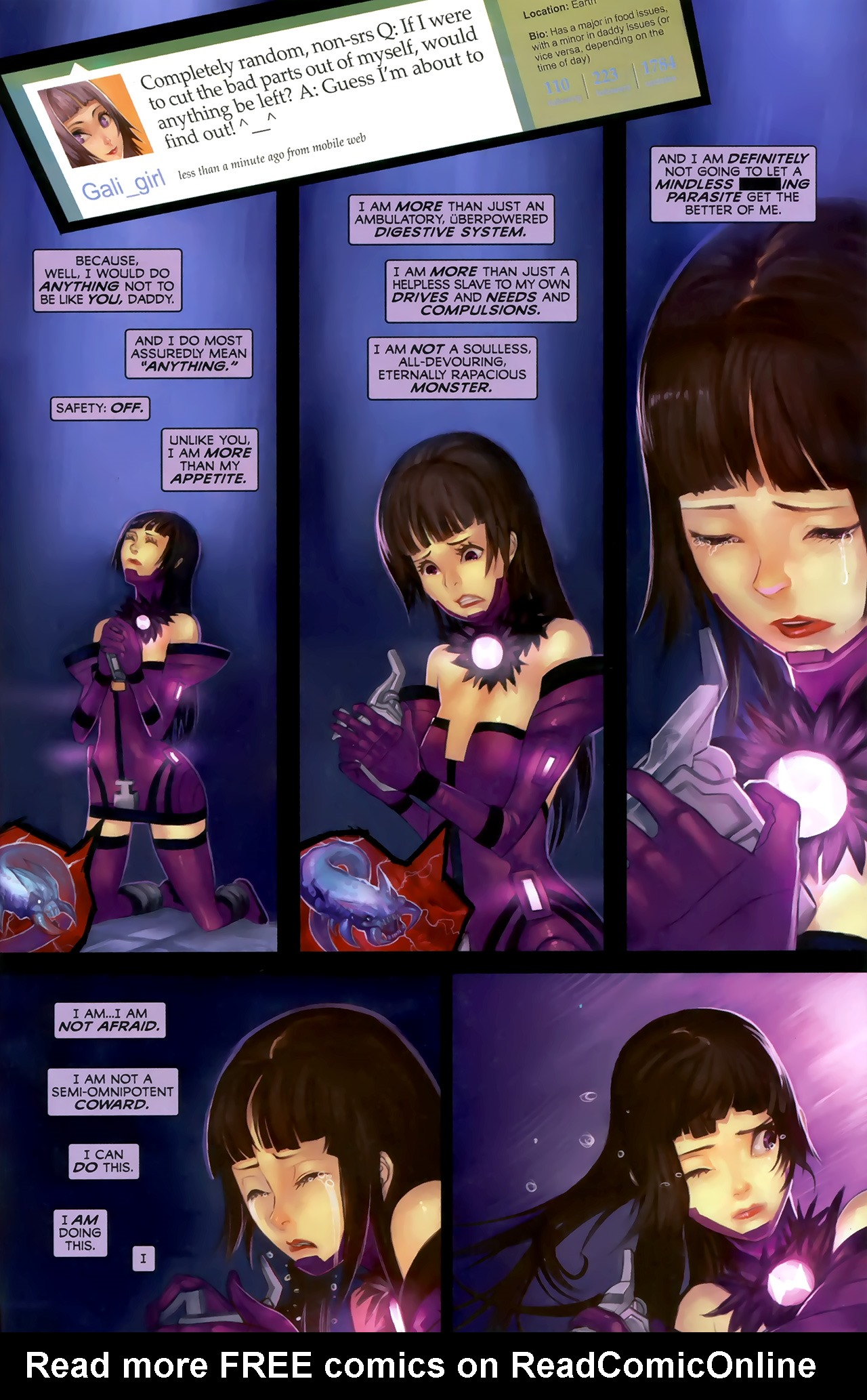 Read online Galacta: Daughter of Galactus comic -  Issue # Full - 30