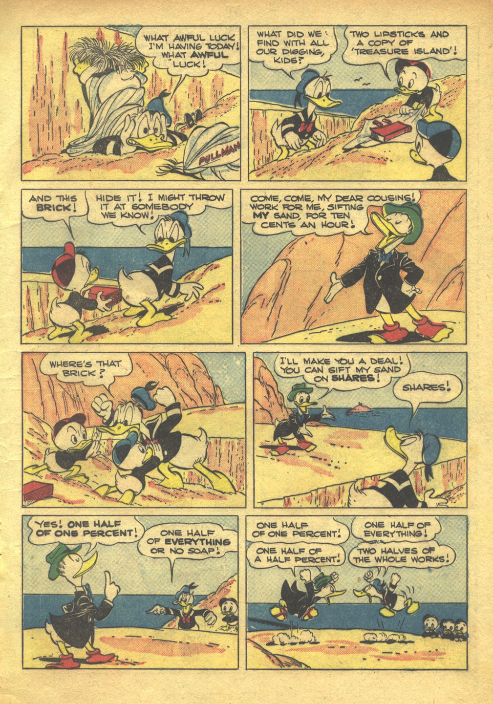 Walt Disney's Comics and Stories issue 103 - Page 9