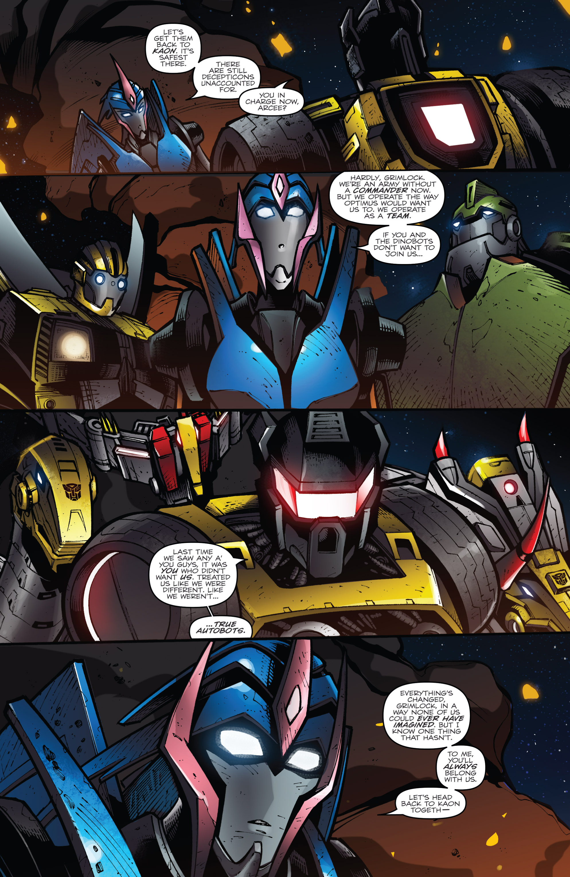Read online Transformers Prime: Beast Hunters comic -  Issue #8 - 8