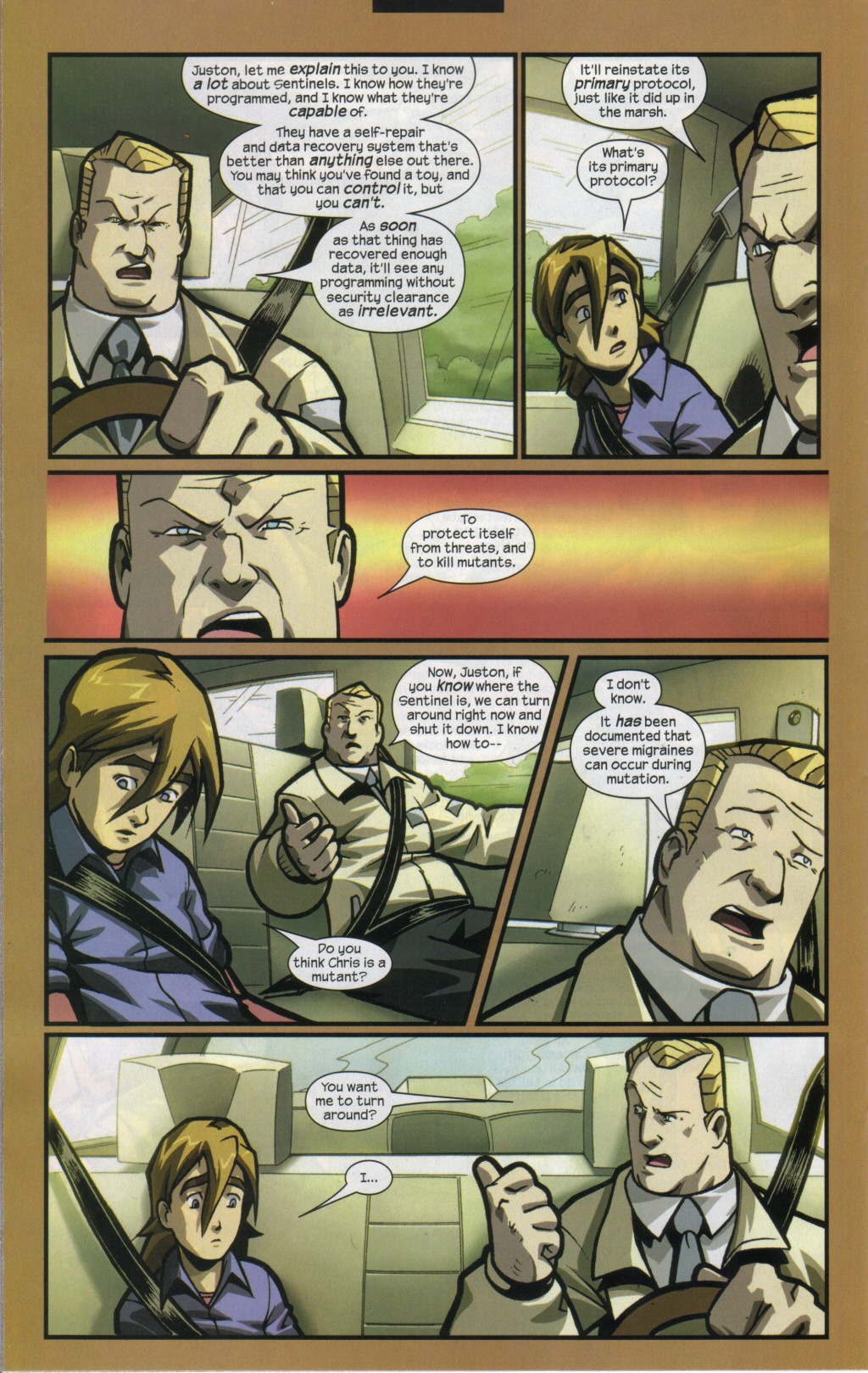Read online Sentinel comic -  Issue #11 - 16