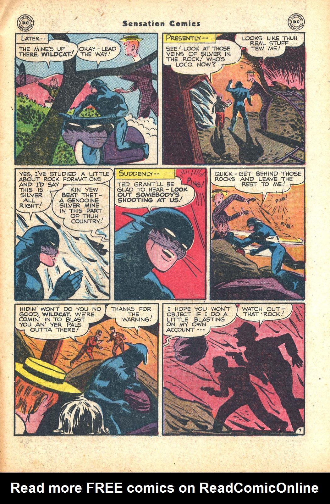 Read online Sensation (Mystery) Comics comic -  Issue #63 - 47