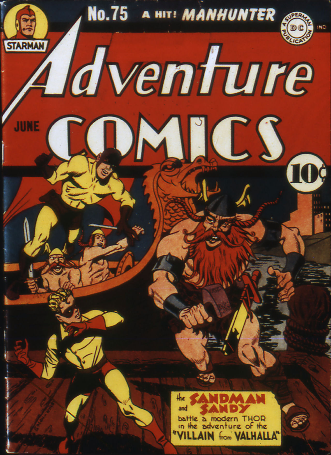 Read online Adventure Comics (1938) comic -  Issue #75 - 1