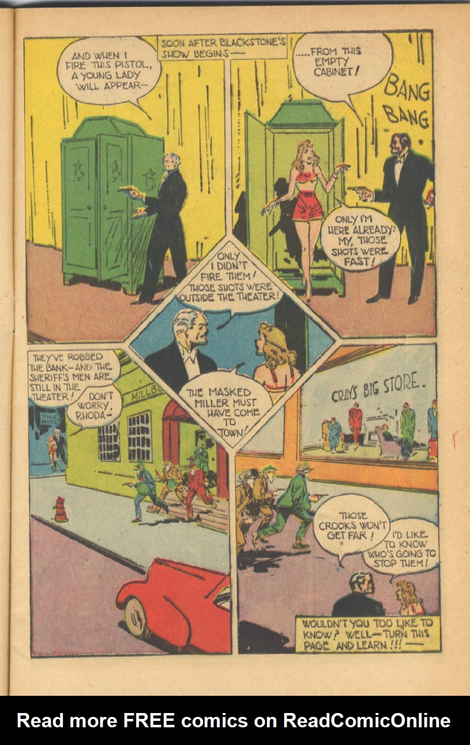 Read online Super-Magician Comics comic -  Issue #41 - 9