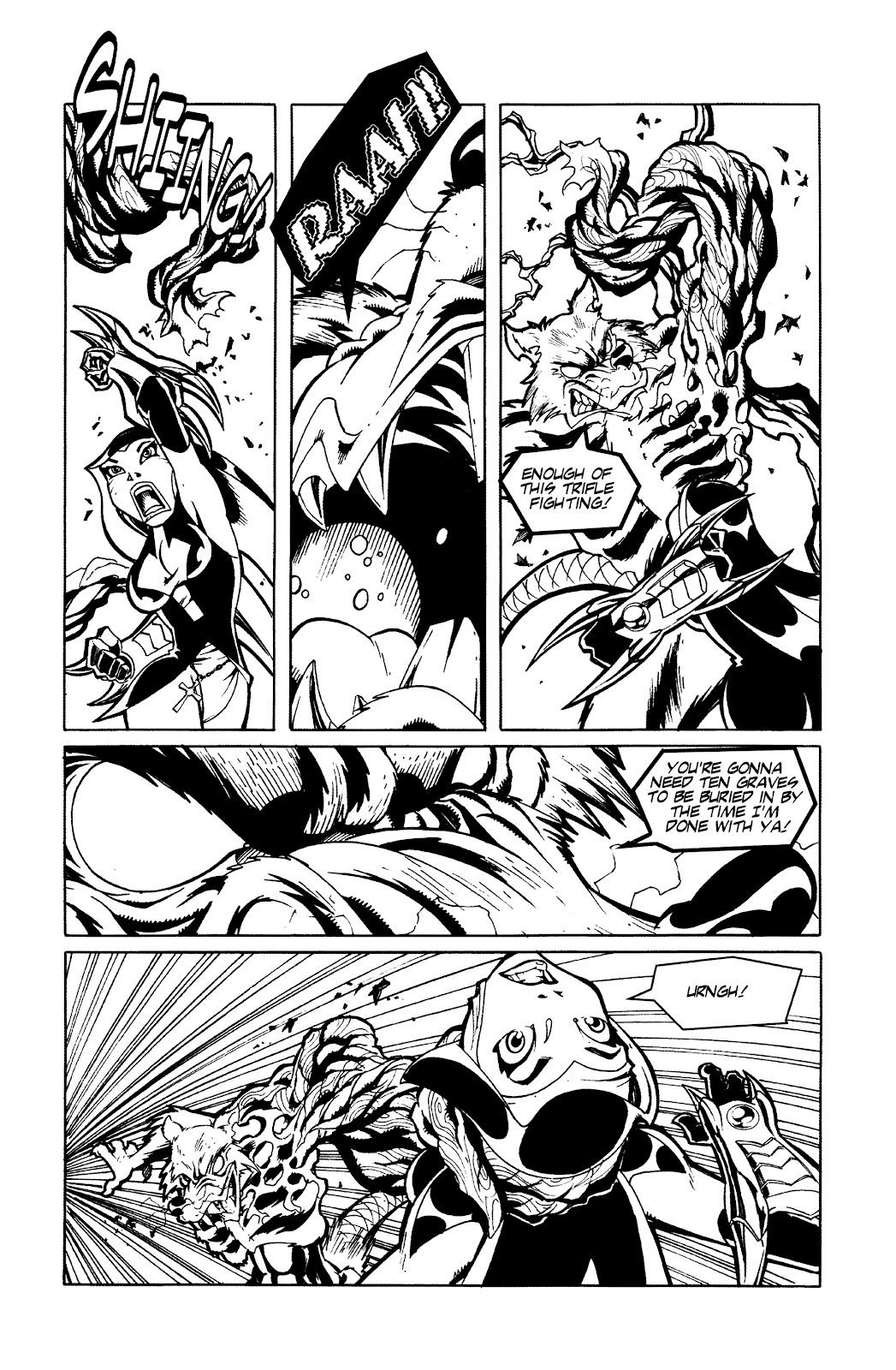 Warrior Nun Areala:  Dangerous Game Issue #3 #3 - English 6