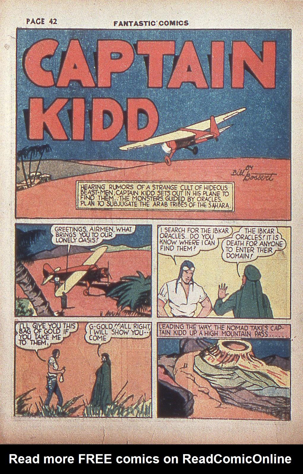Read online Fantastic Comics comic -  Issue #4 - 43