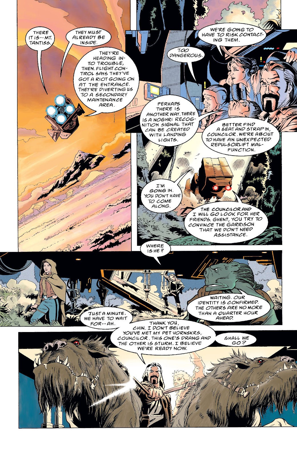 Read online Star Wars Legends: The New Republic - Epic Collection comic -  Issue # TPB 4 (Part 5) - 13