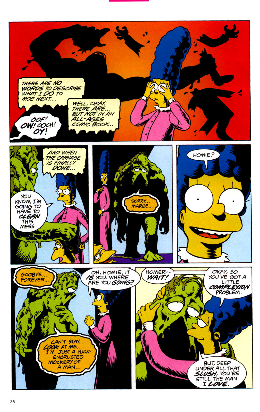 Read online Treehouse of Horror comic -  Issue #11 - 30
