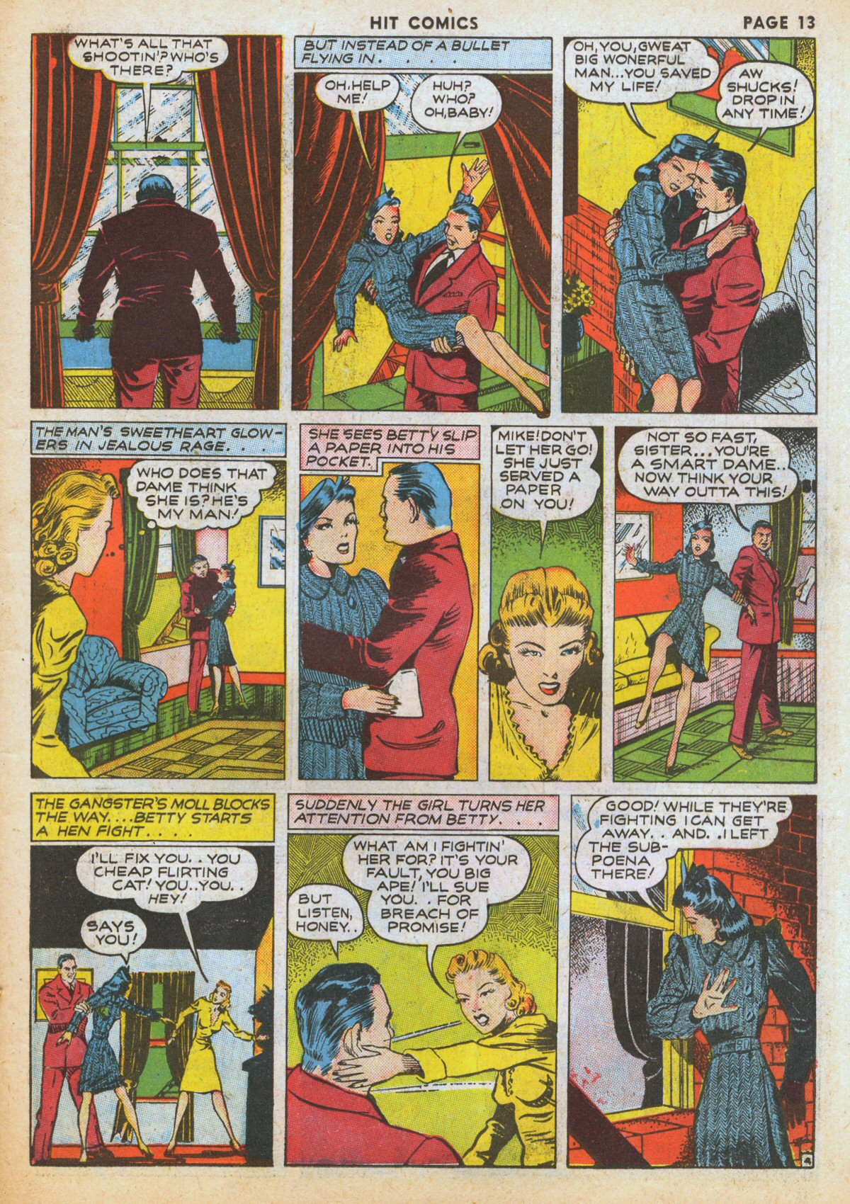 Read online Hit Comics comic -  Issue #12 - 15