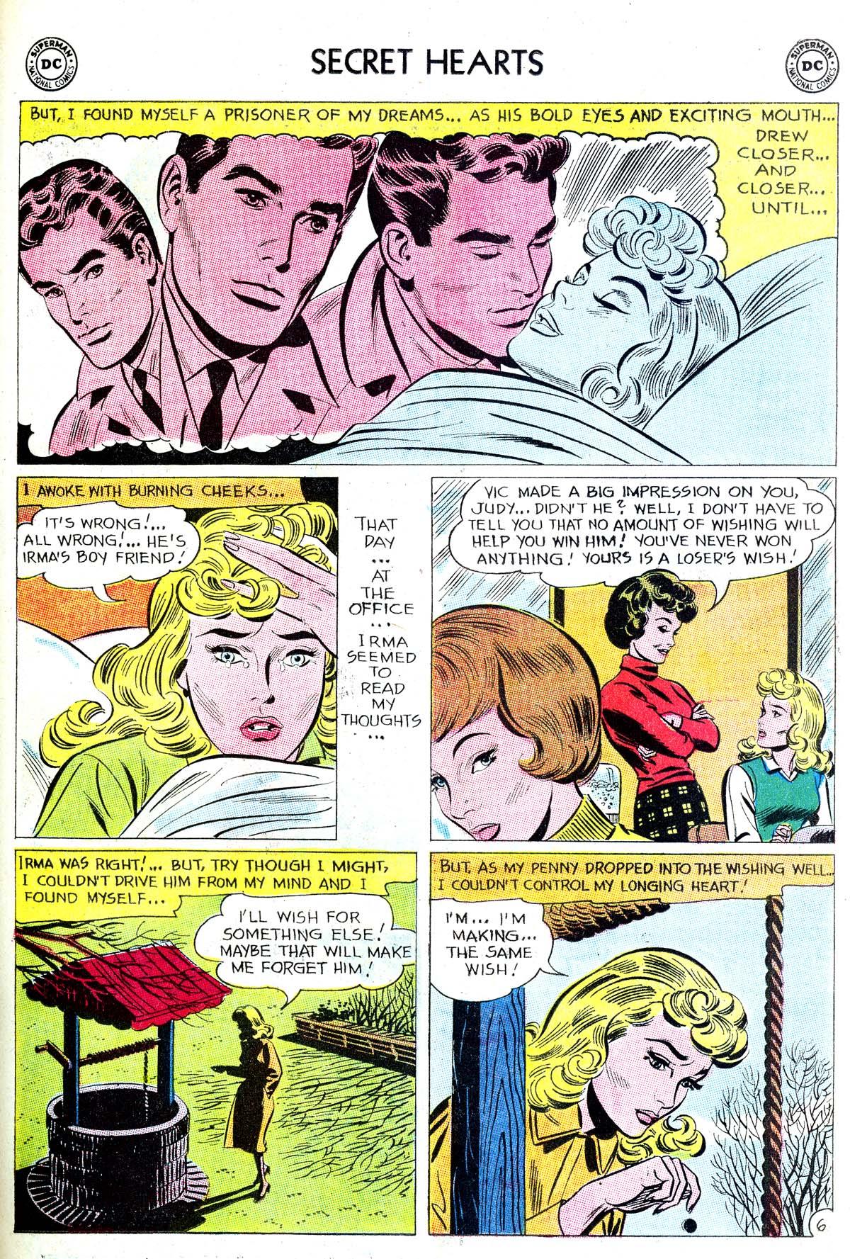 Read online Secret Hearts comic -  Issue #87 - 31