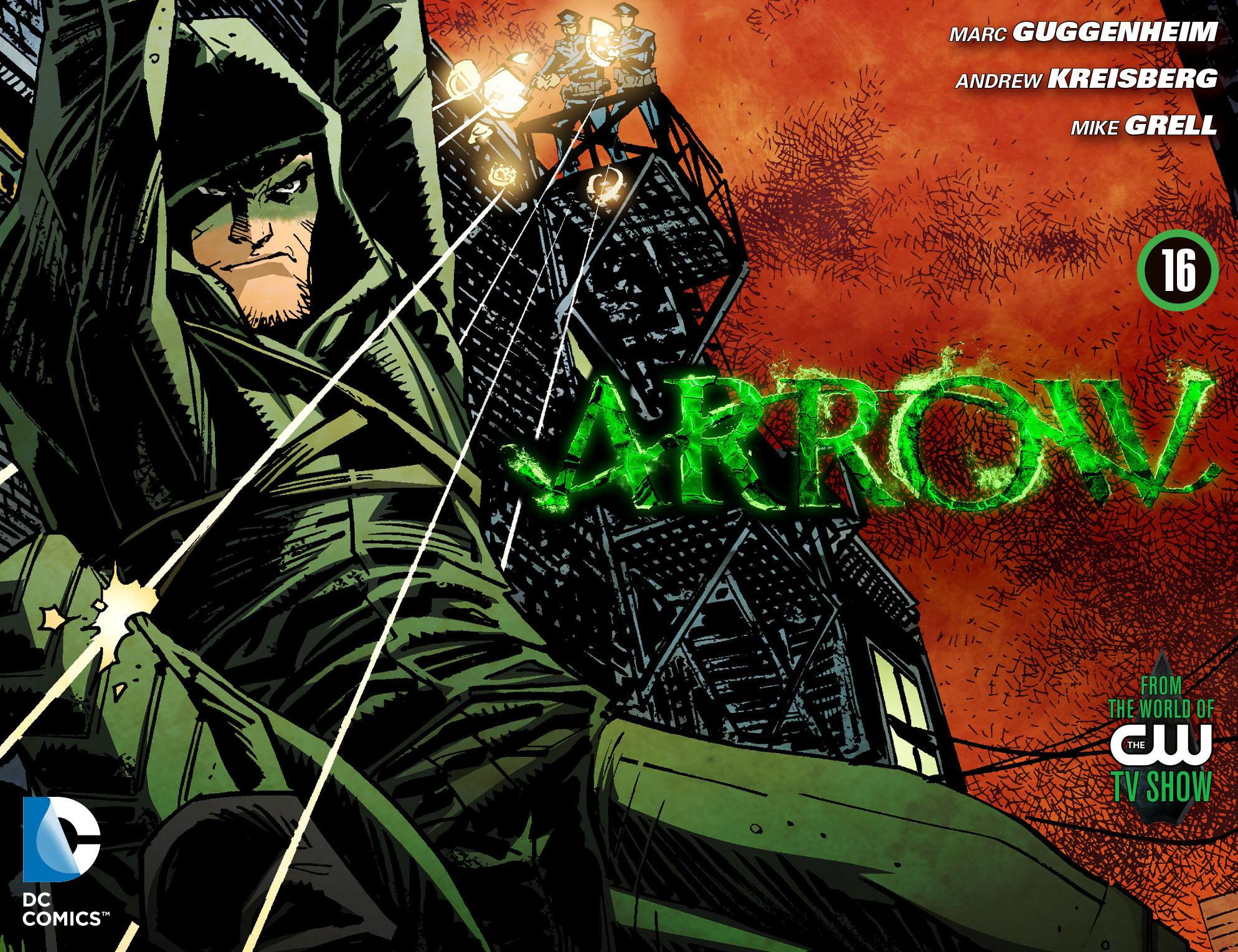 Read online Arrow [II] comic -  Issue #16 - 1
