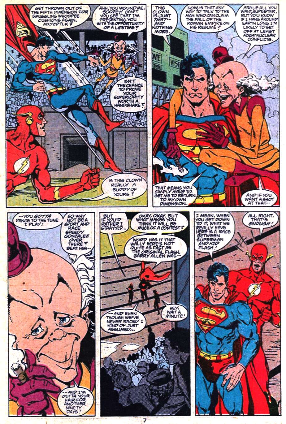 Read online Adventures of Superman (1987) comic -  Issue #463 - 7