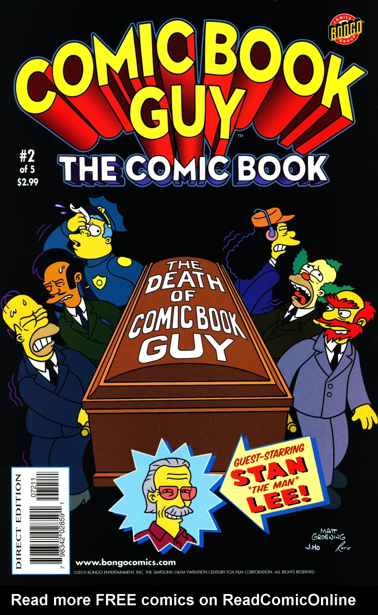 Bongo Comics presents Comic Book Guy: The Comic Book 2 Page 1
