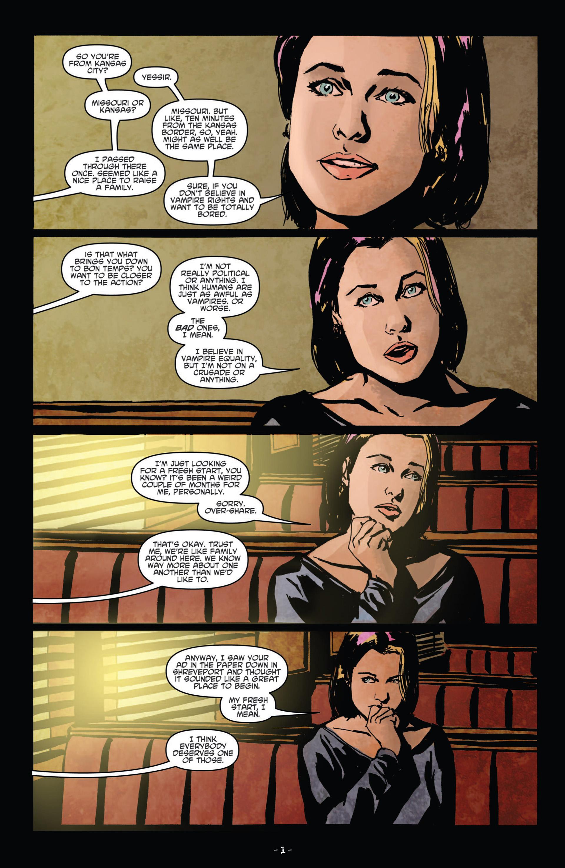 Read online True Blood (2012) comic -  Issue #11 - 4