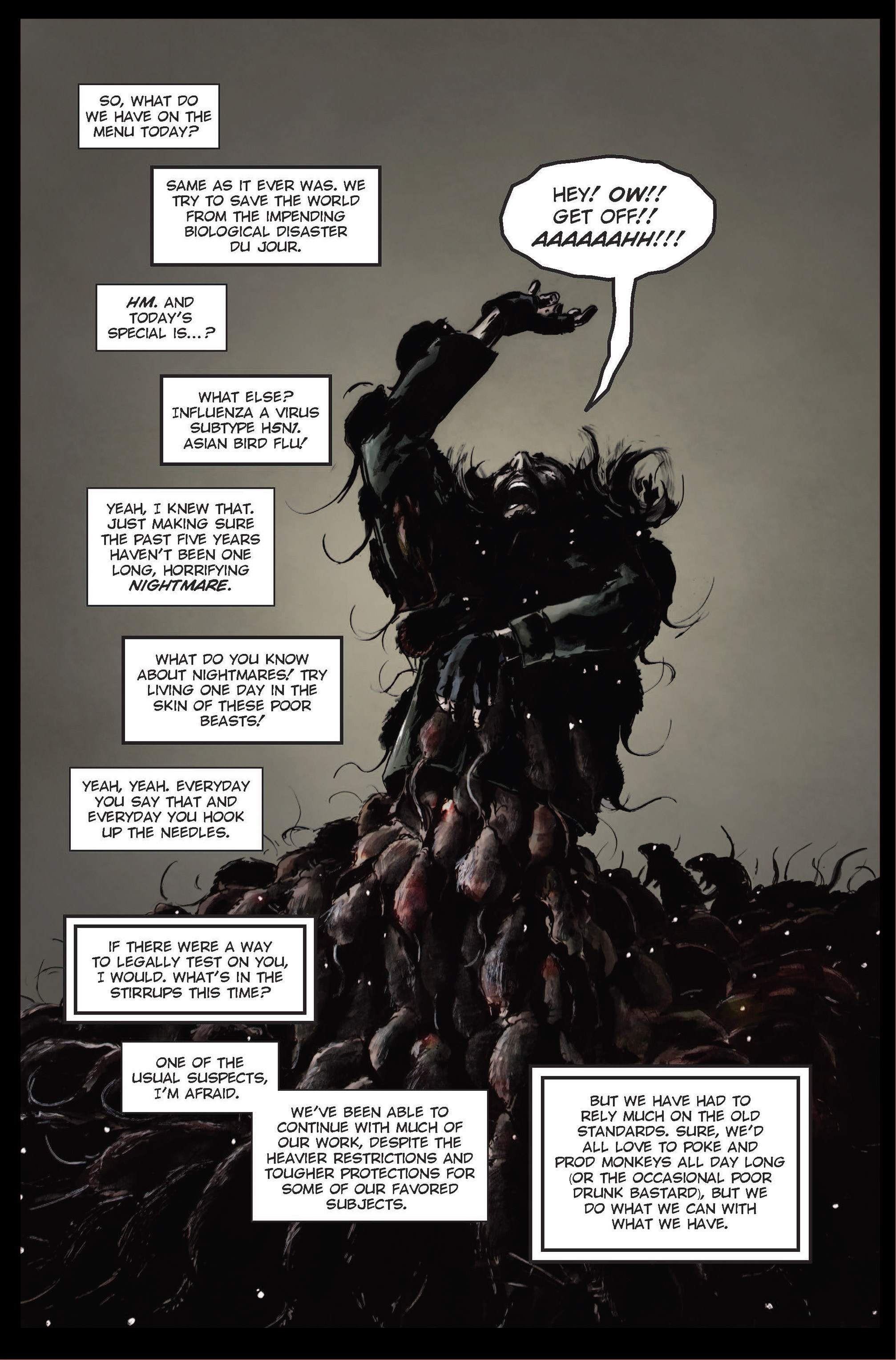 Read online The Final Plague comic -  Issue #1 - 11