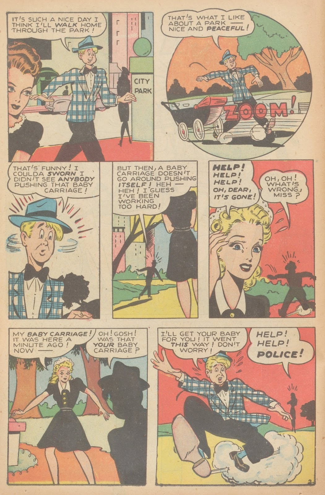Read online Nellie The Nurse (1945) comic -  Issue #11 - 38