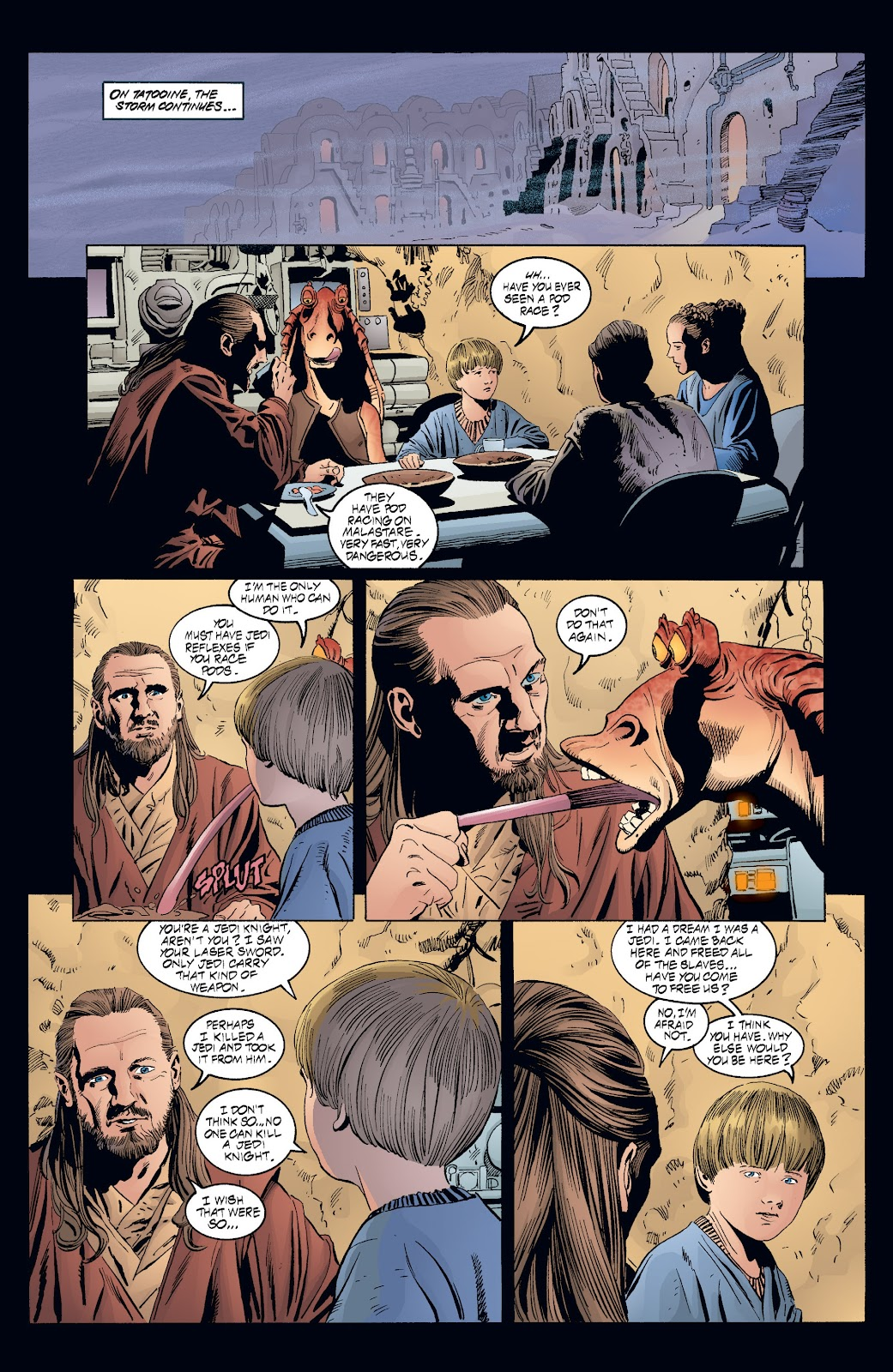 Read online Star Wars Legends: Rise of the Sith - Epic Collection comic -  Issue # TPB 2 (Part 3) - 75