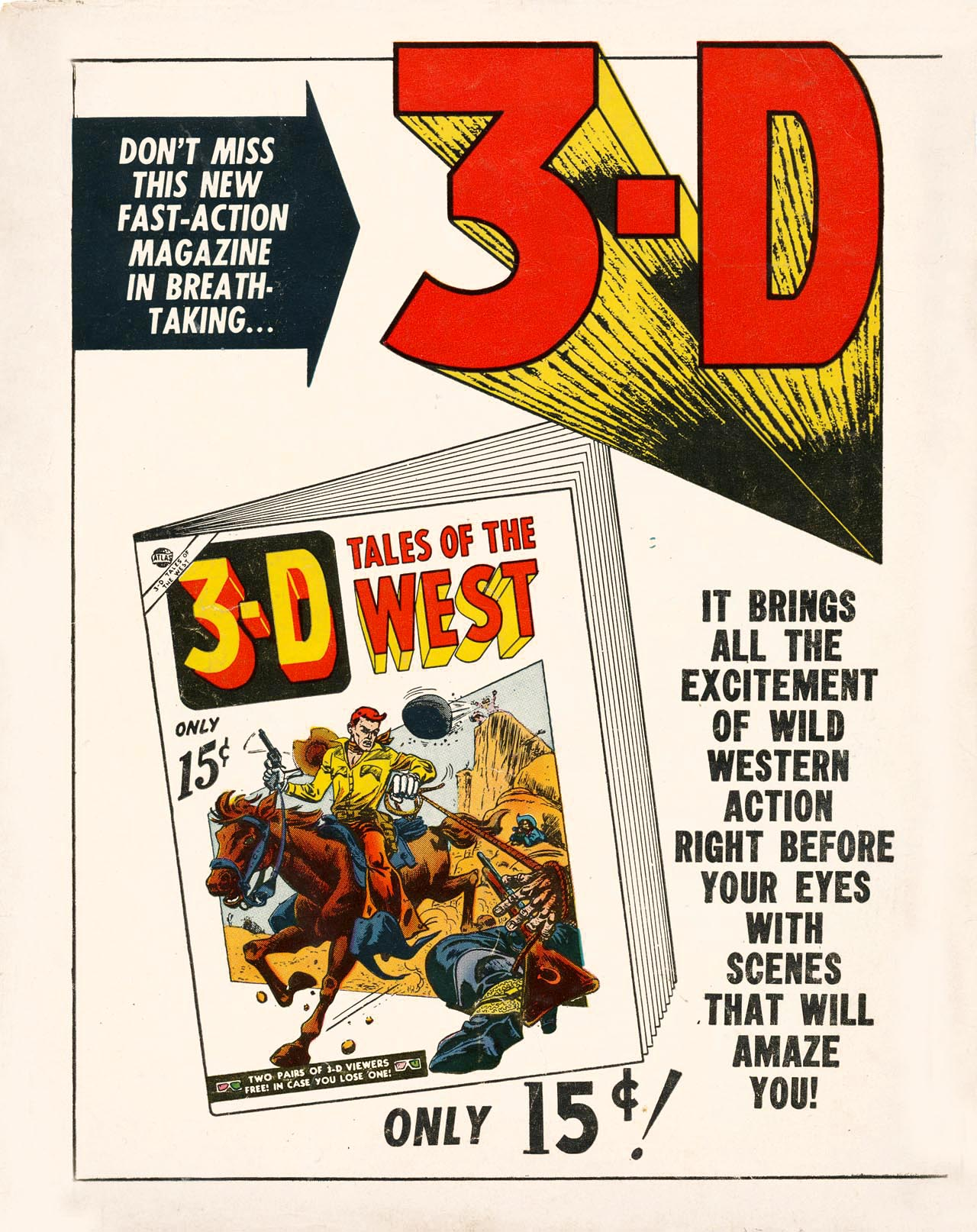 Read online 3-D Action comic -  Issue #3-D Action Full - 36