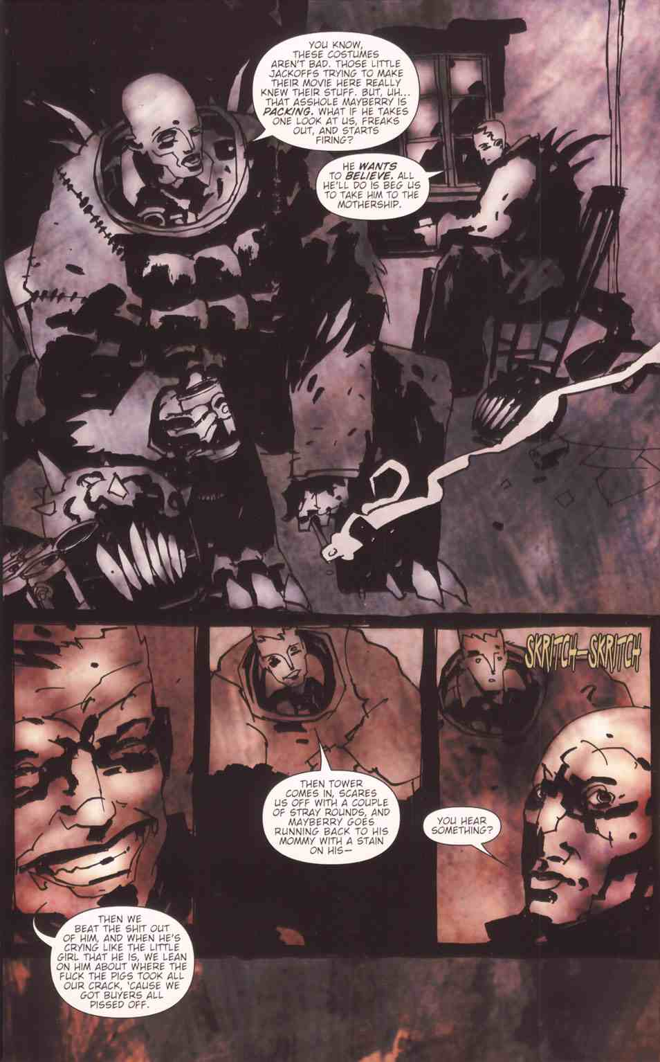 Read online Silent Hill: The Grinning Man comic -  Issue # Full - 26
