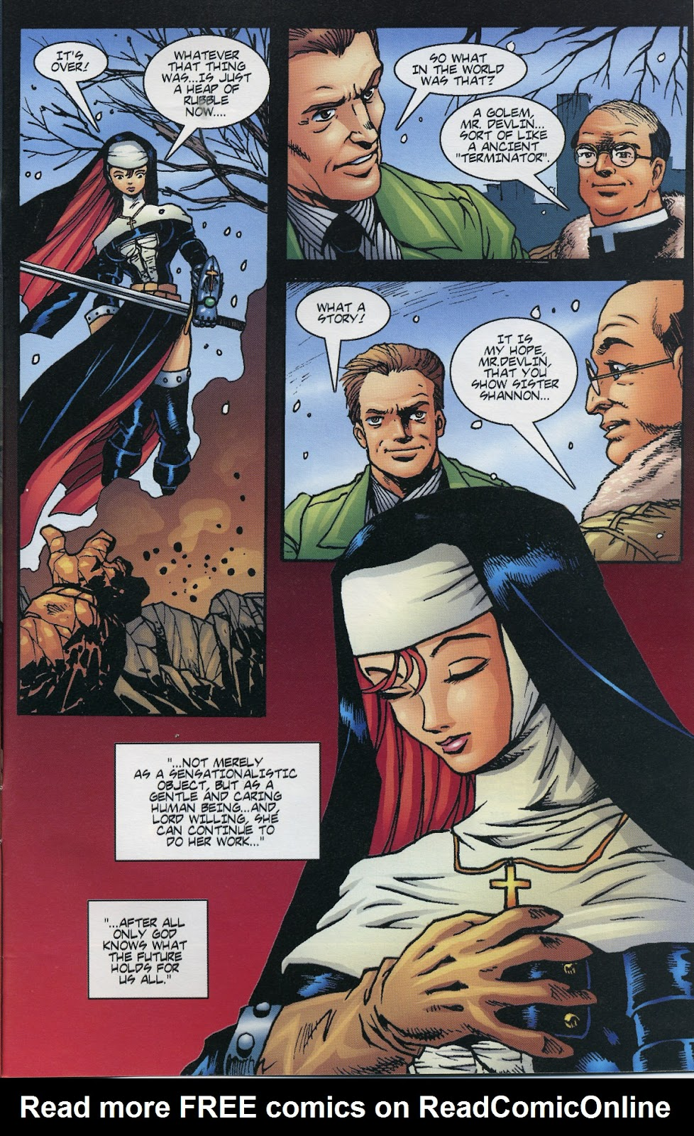 Warrior Nun Areala (1997) Issue #6 #6 - English 23