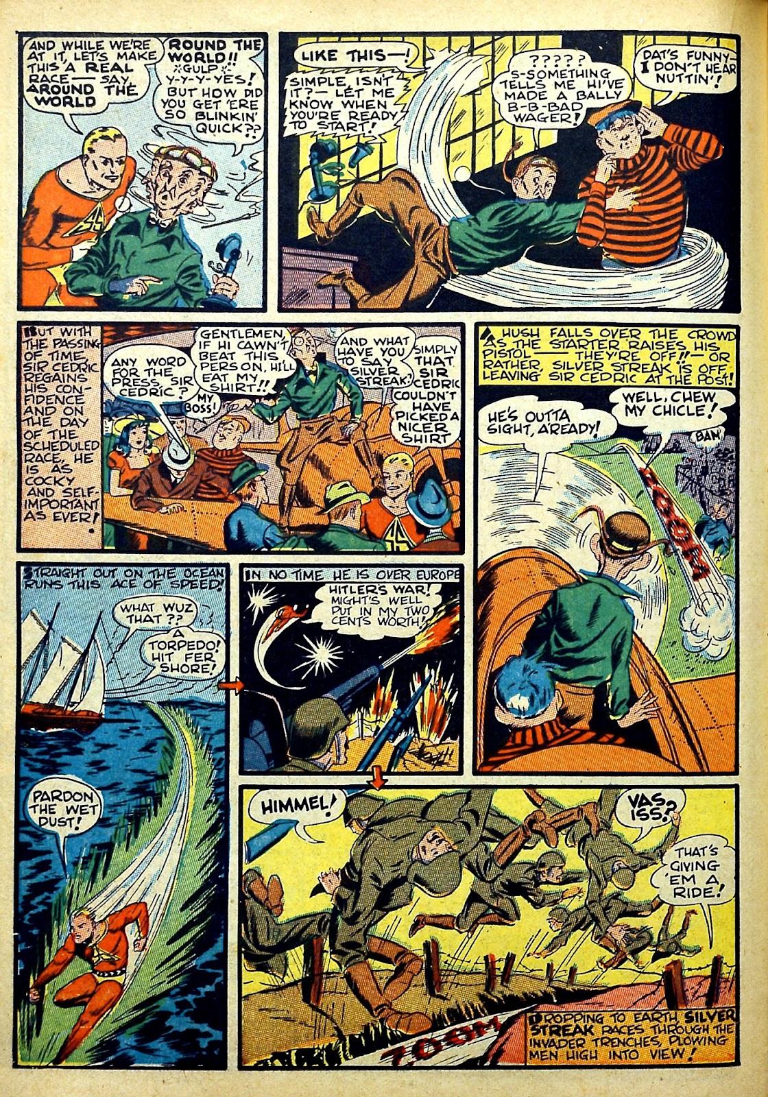 Read online Silver Streak Comics comic -  Issue #22 - 26