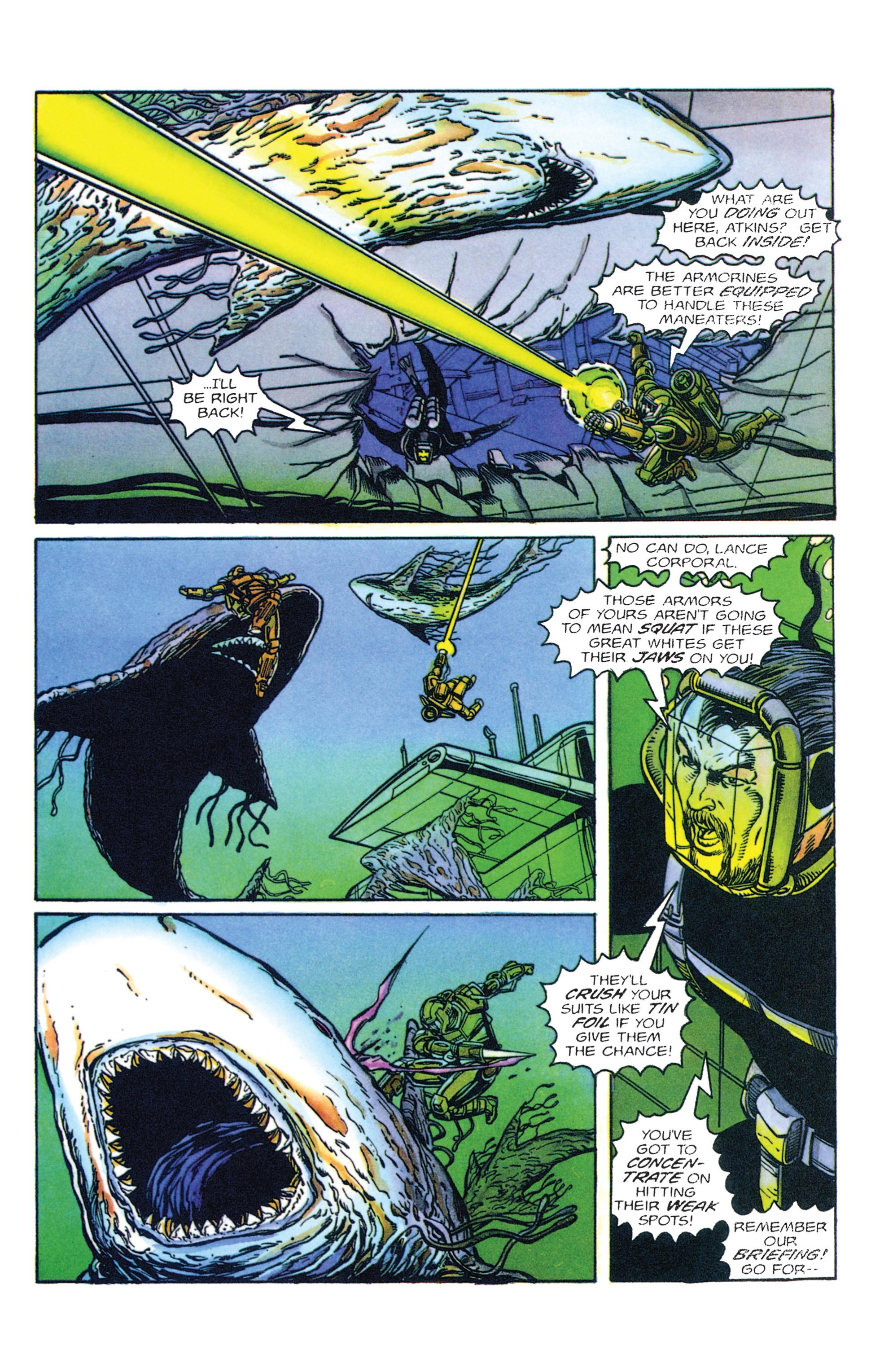Read online Armorines comic -  Issue #2 - 5