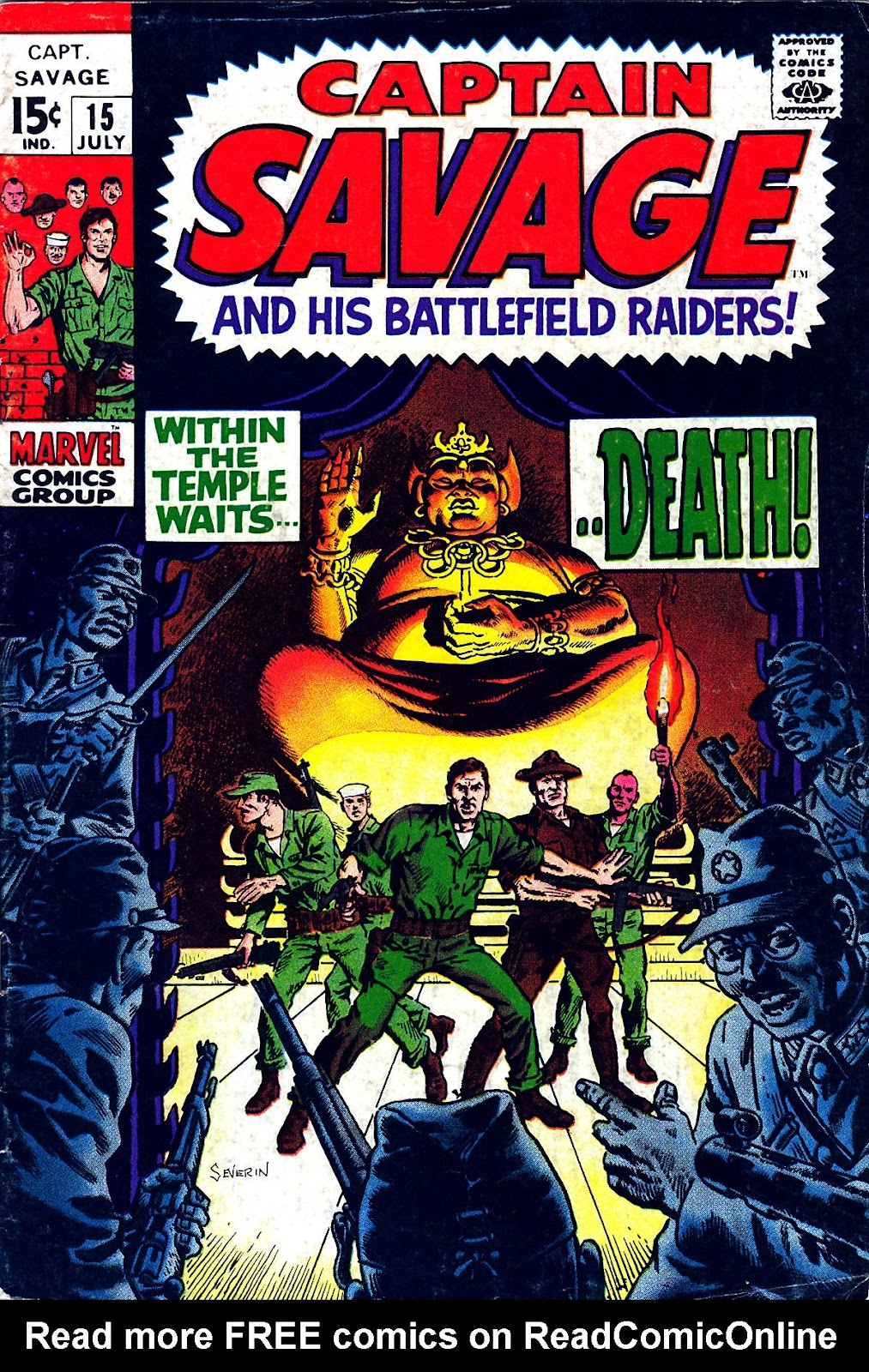 Captain Savage and his Leatherneck Raiders issue 15 - Page 1