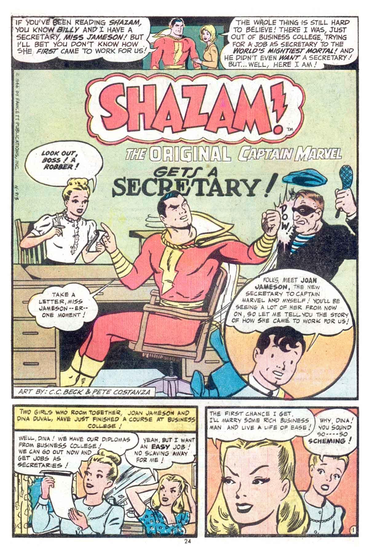 Read online Shazam! (1973) comic -  Issue #13 - 25