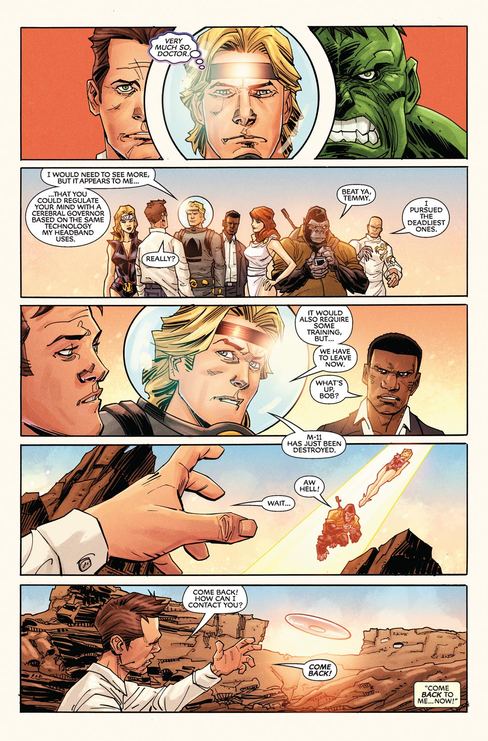 Read online Agents Of Atlas (2009) comic -  Issue #9 - 13