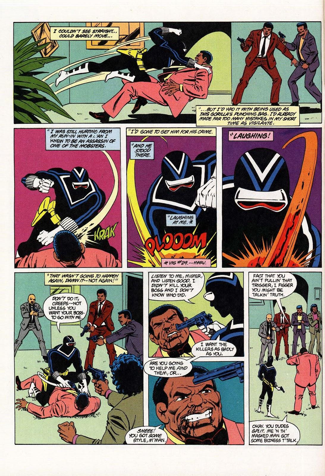 Vigilante (1983) issue 31 - Page 6
