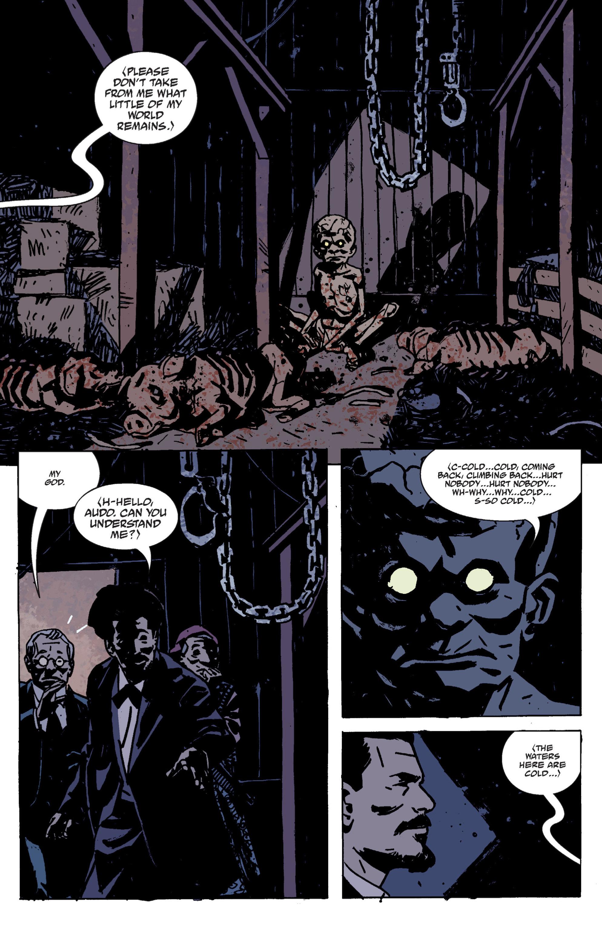Read online B.P.R.D. (2003) comic -  Issue # TPB 9 - 41