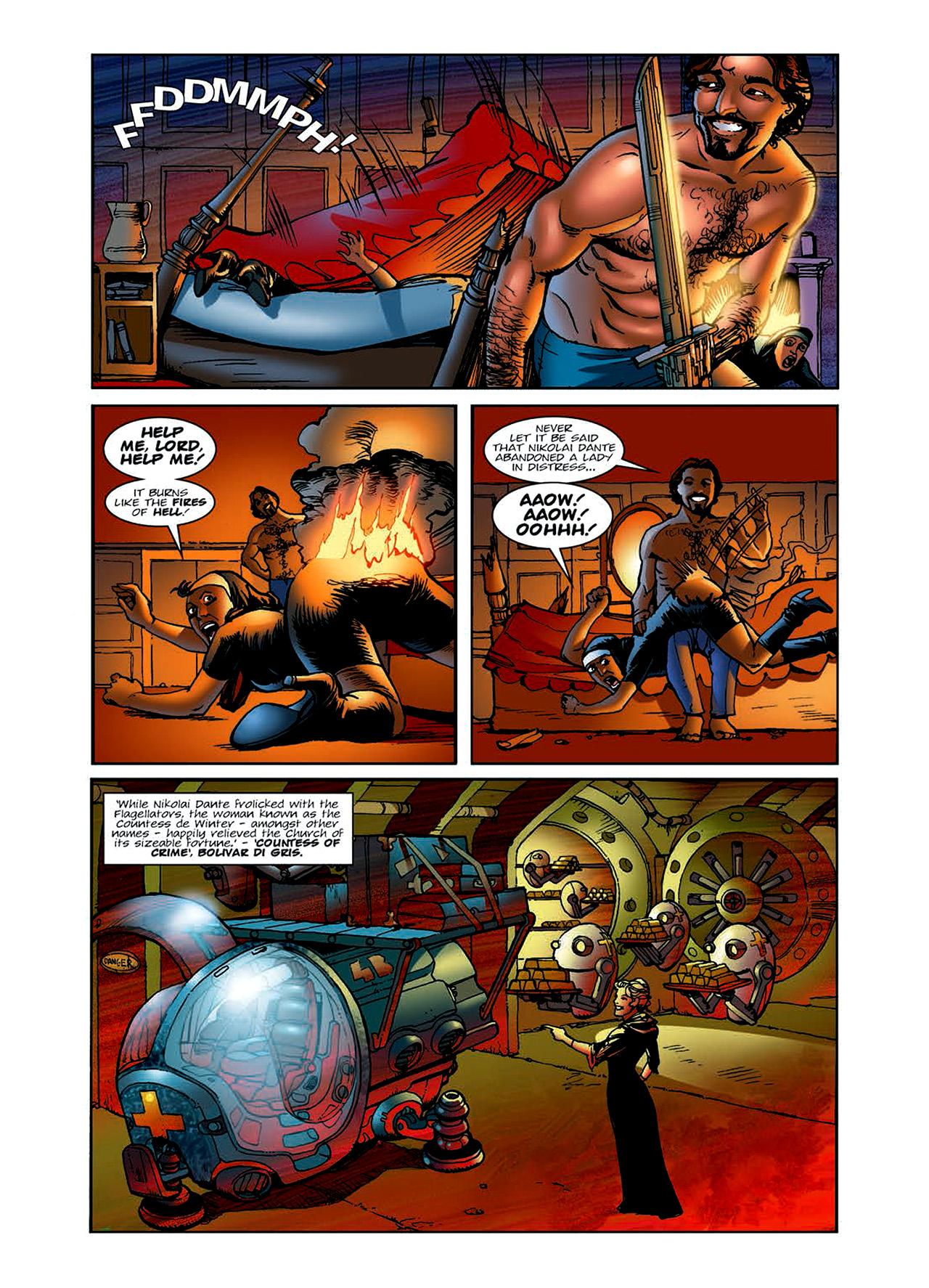 Read online Nikolai Dante comic -  Issue # TPB 6 - 27