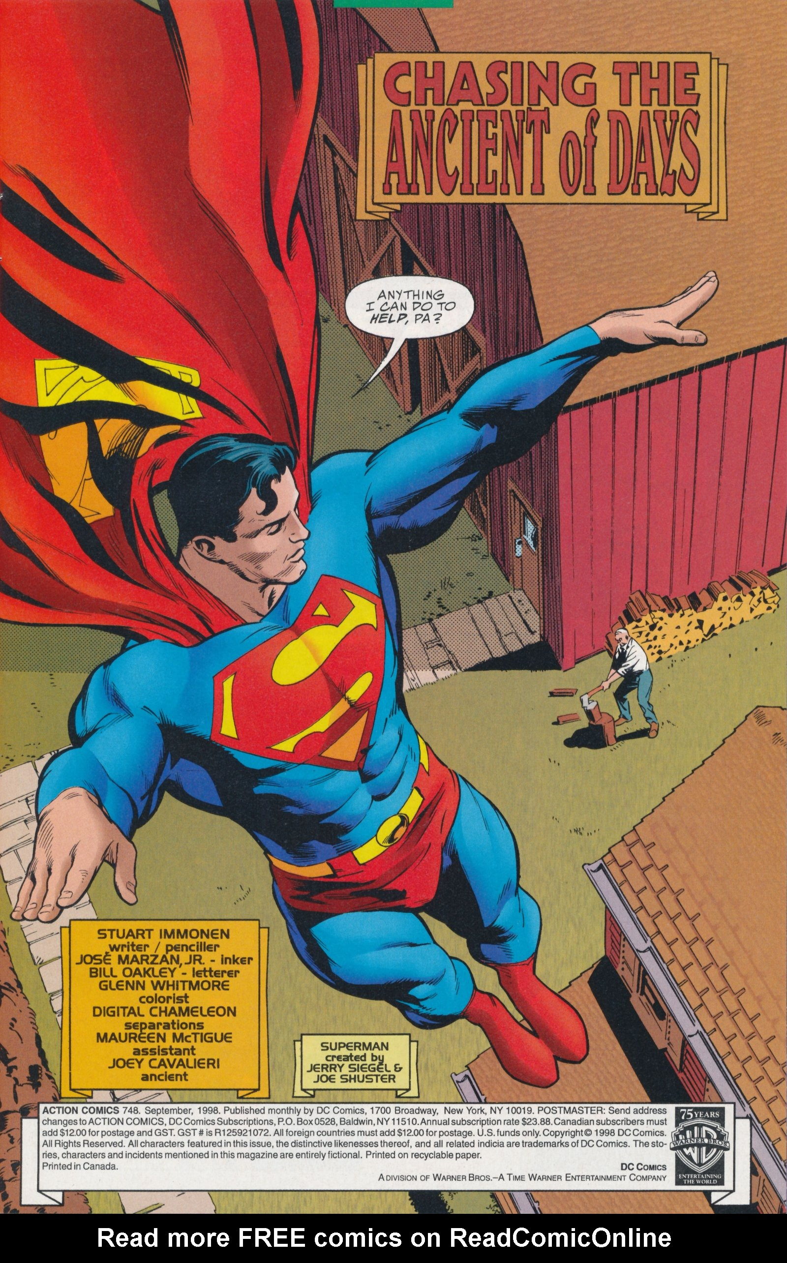 Action Comics (1938) 748 Page 3
