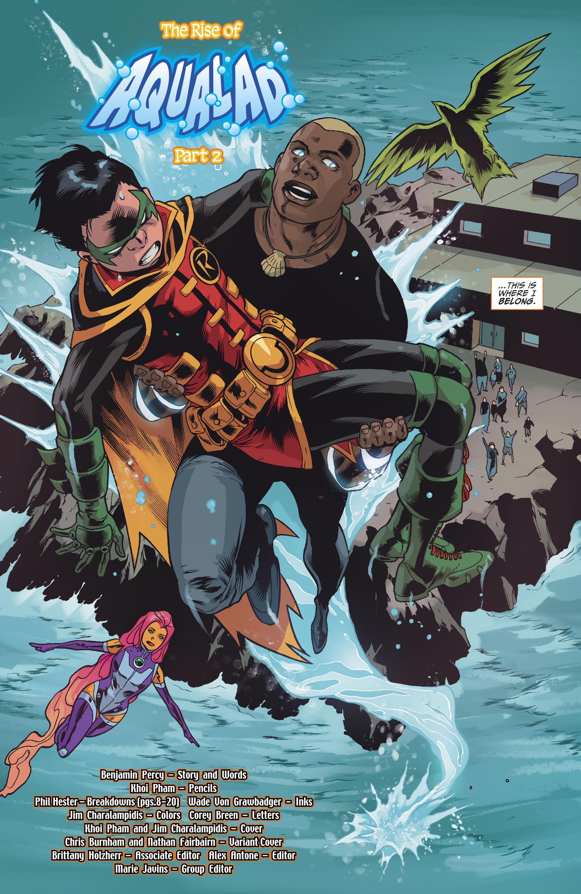 Read online Teen Titans (2016) comic -  Issue #7 - 19