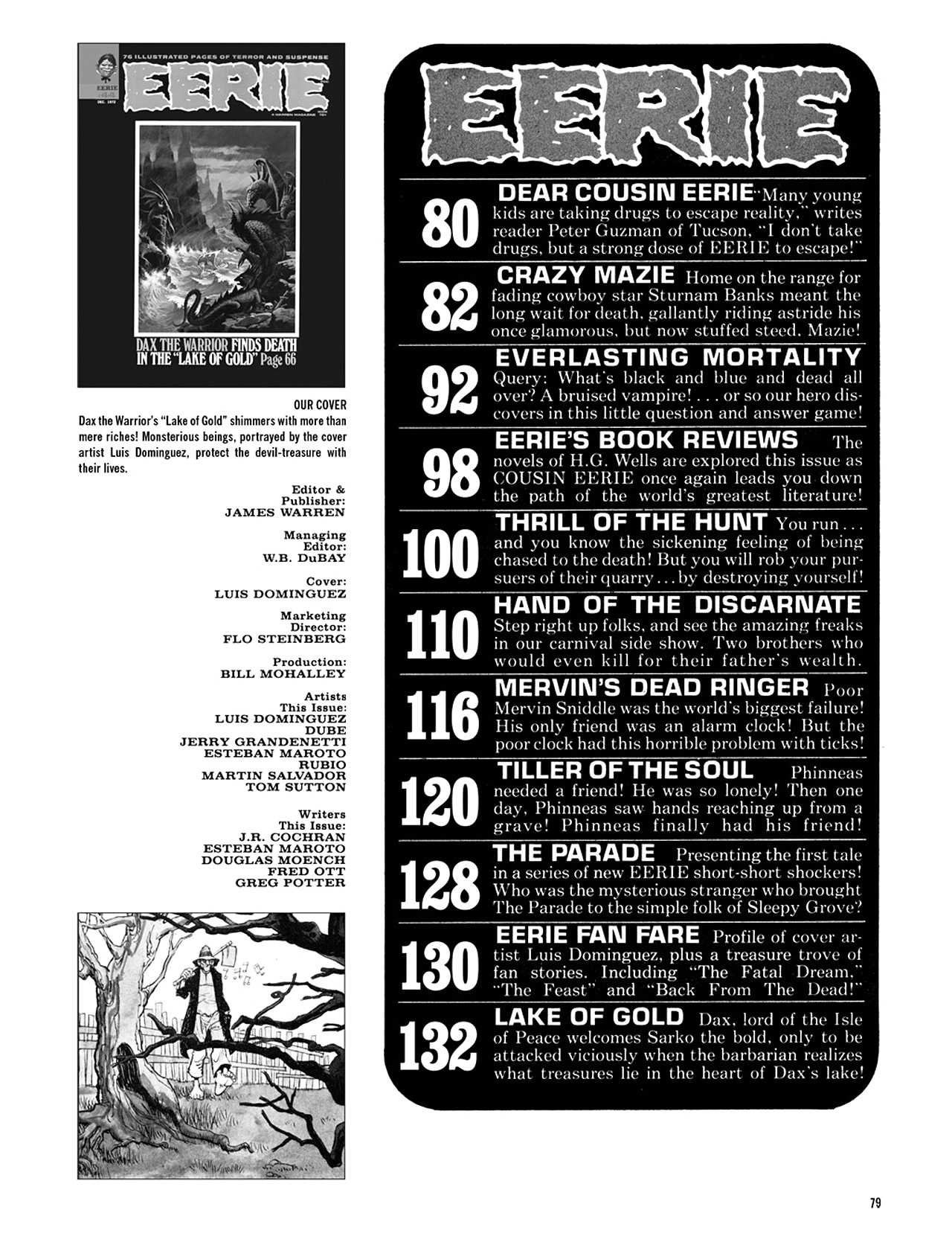 Read online Eerie Archives comic -  Issue # TPB 9 - 80