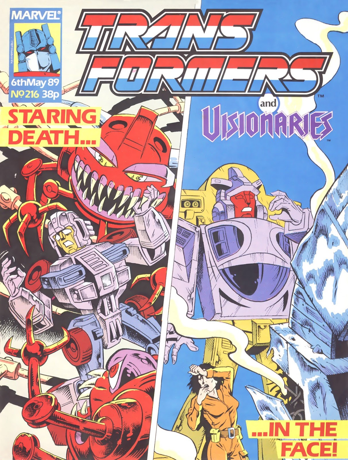 The Transformers (UK) 216 Page 1