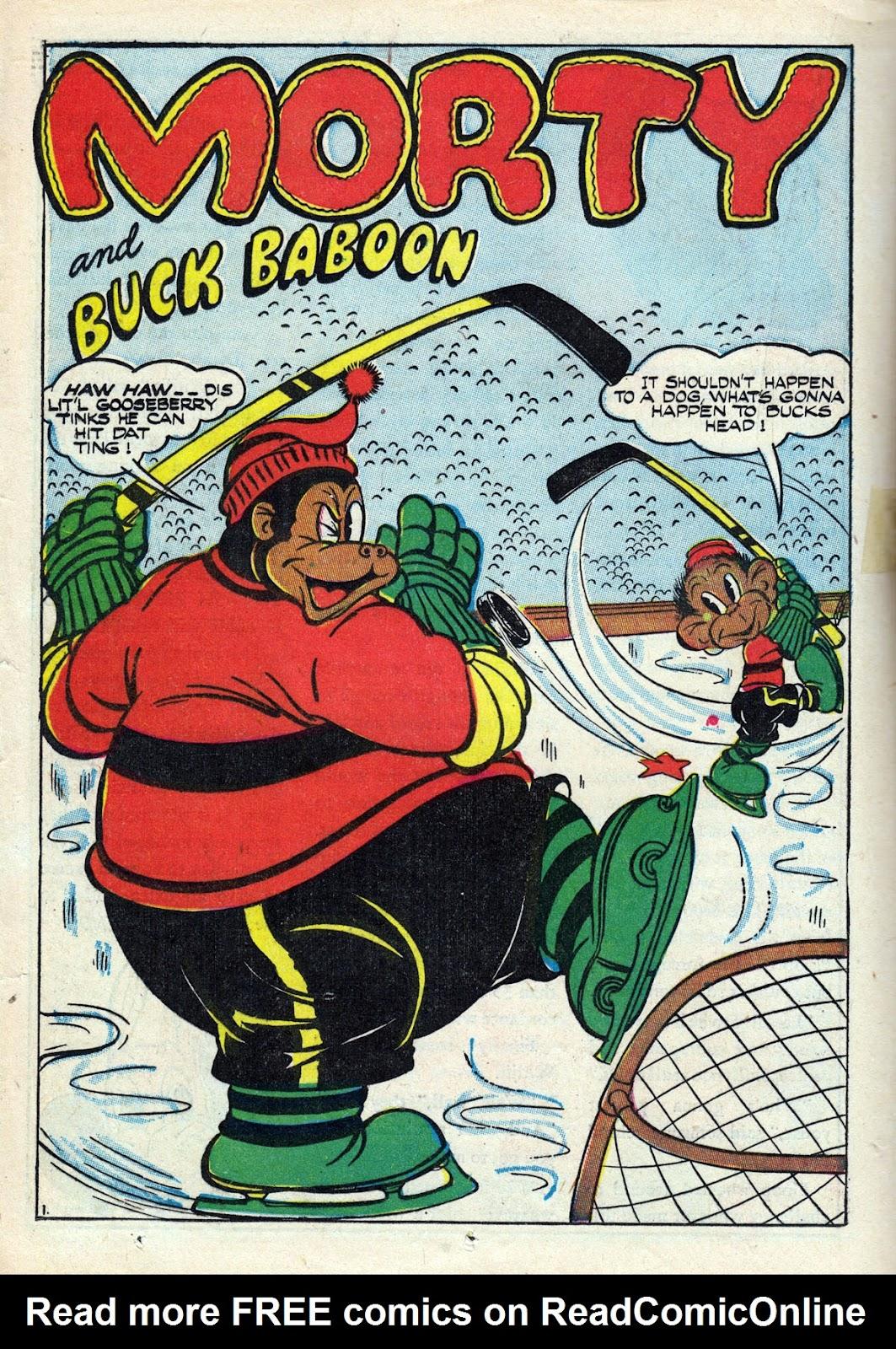 Read online Comedy Comics (1942) comic -  Issue #14 - 36