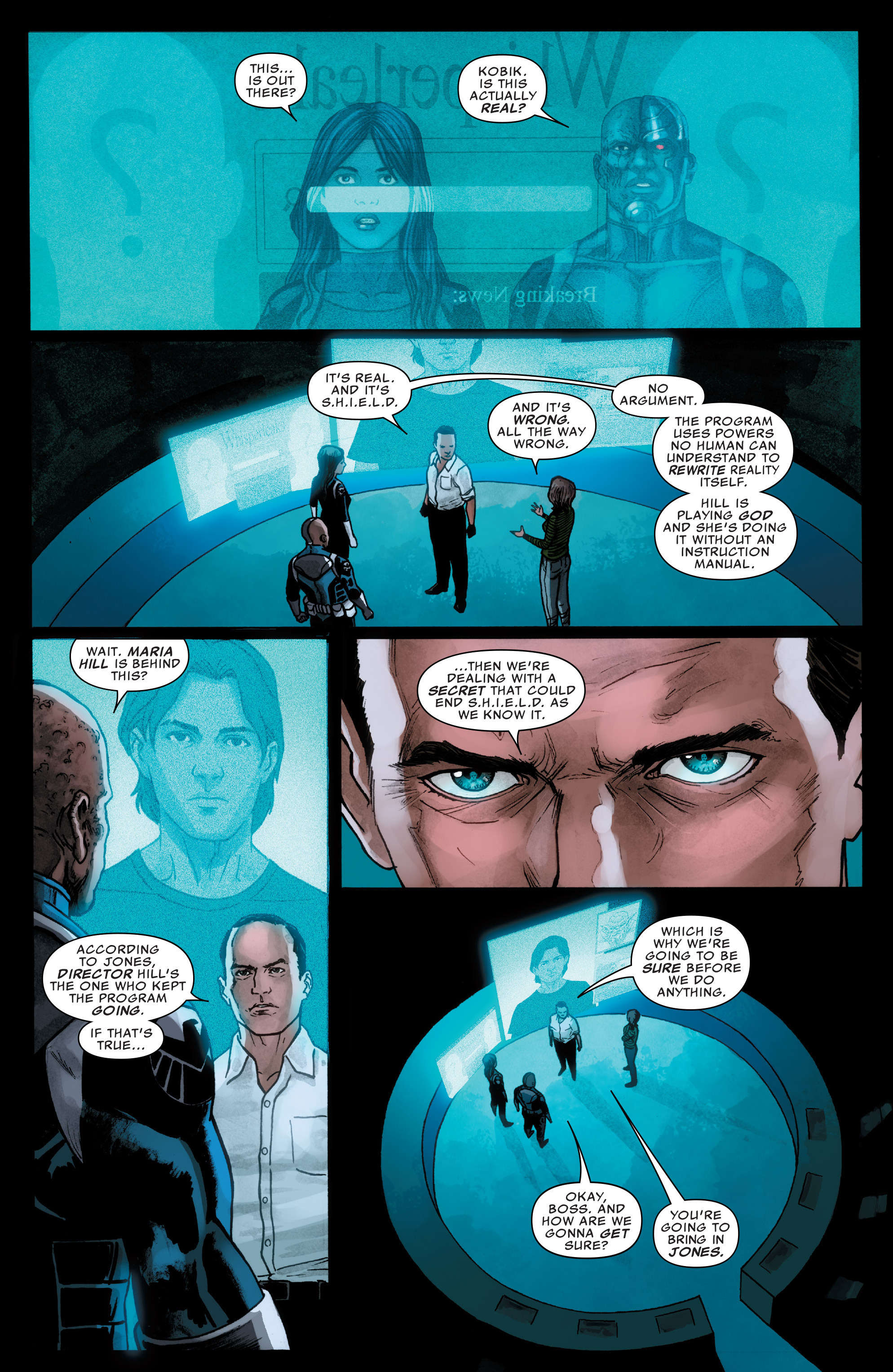 Read online Agents of S.H.I.E.L.D. comic -  Issue #3 - 9