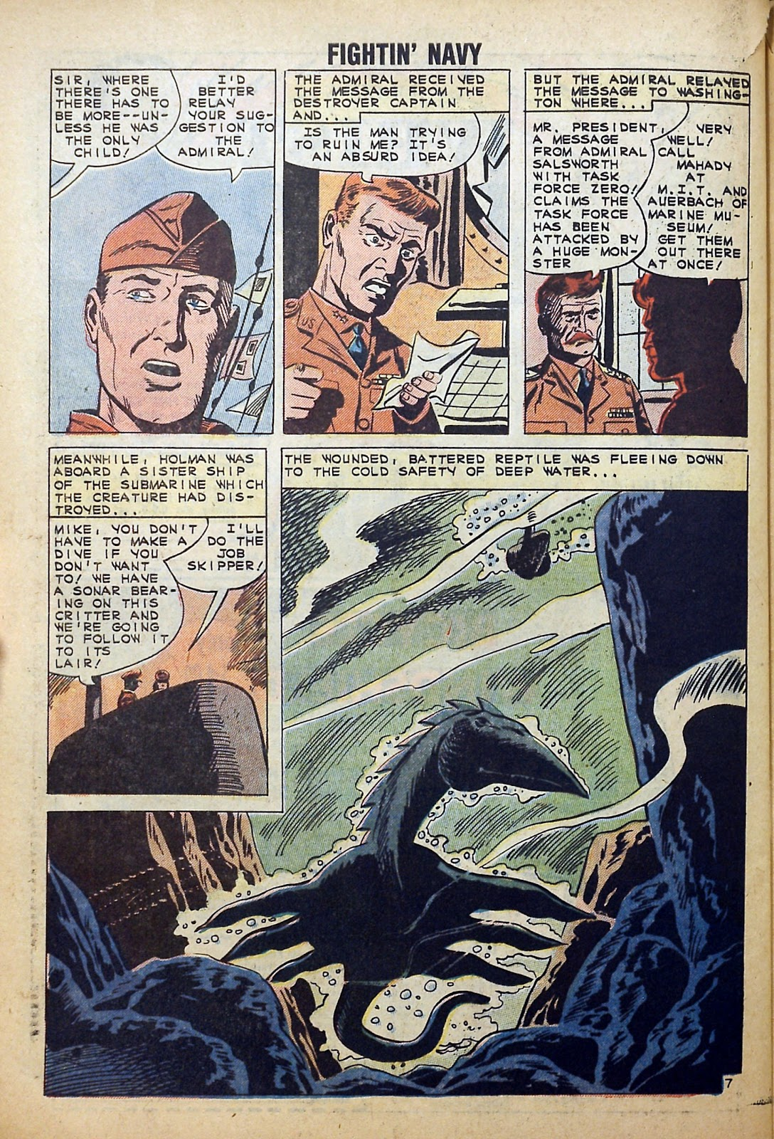 Read online Fightin' Navy comic -  Issue #99 - 32