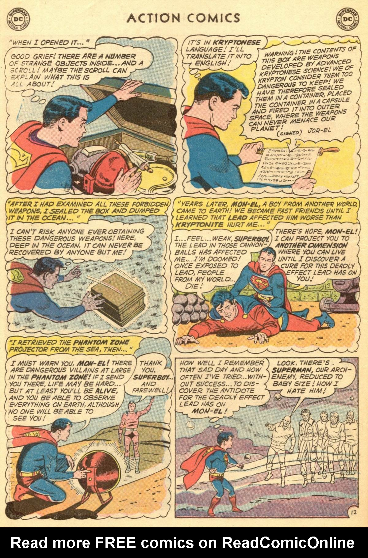 Read online Action Comics (1938) comic -  Issue #284 - 14