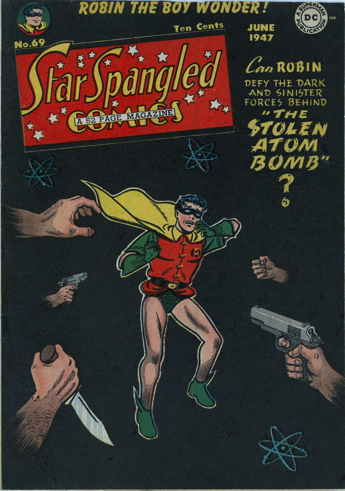 Star Spangled Comics (1941) issue 69 - Page 1