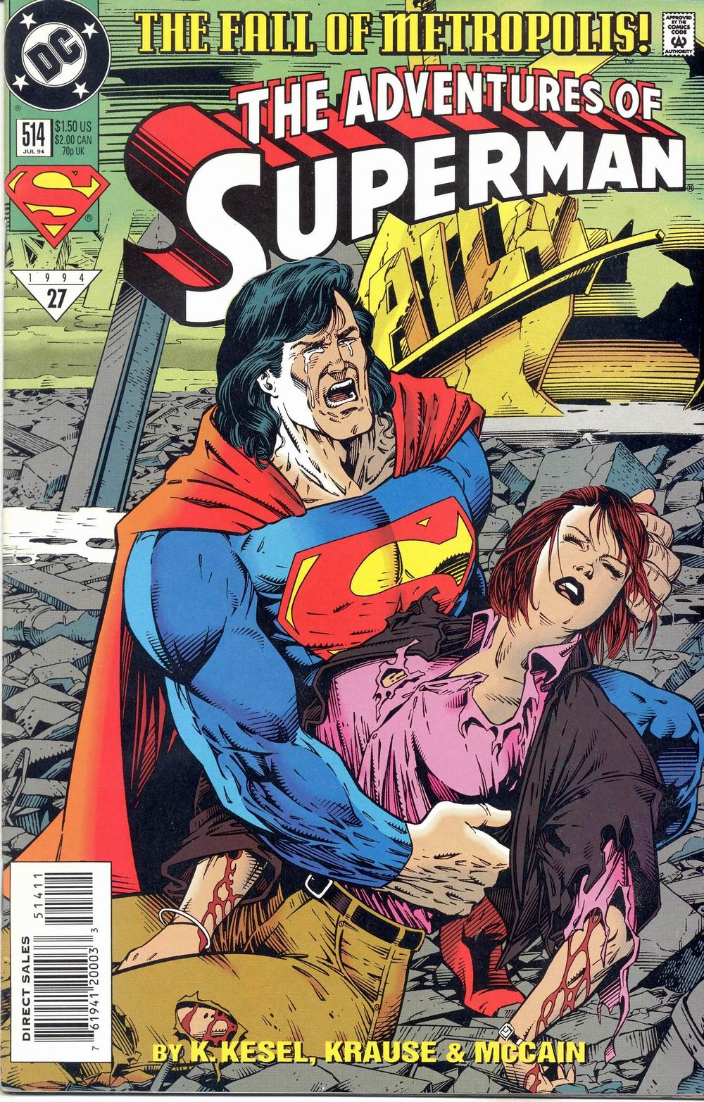 Adventures of Superman (1987) 514 Page 1