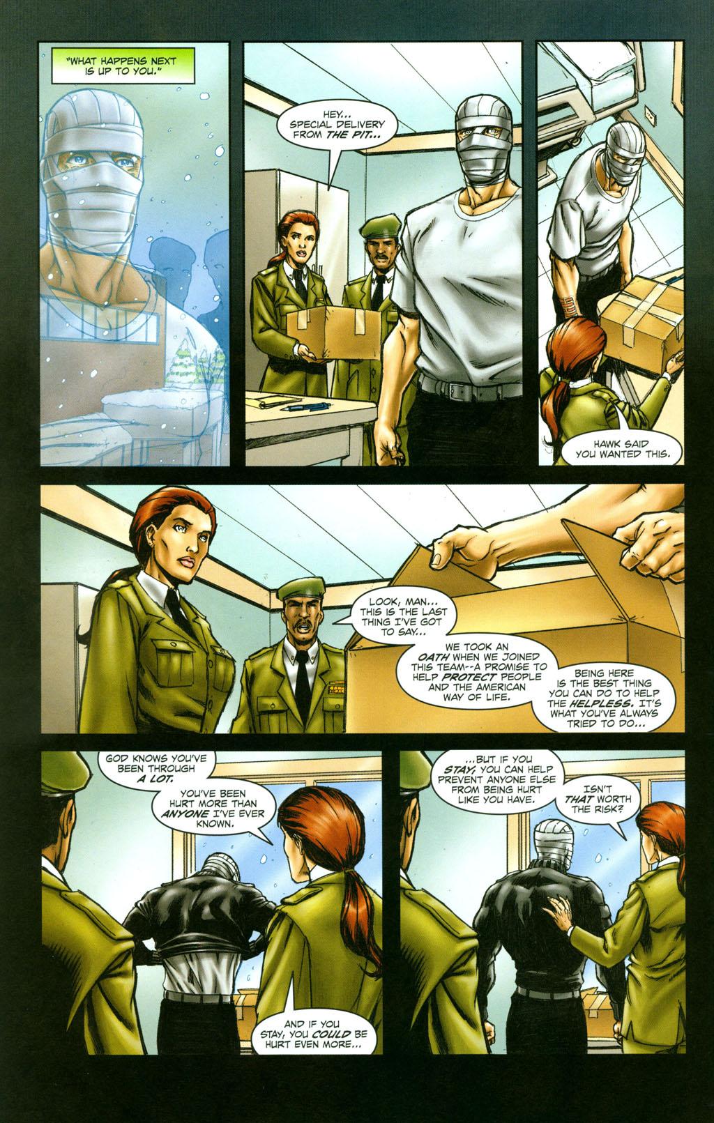 Read online Snake Eyes: Declassified comic -  Issue #6 - 23