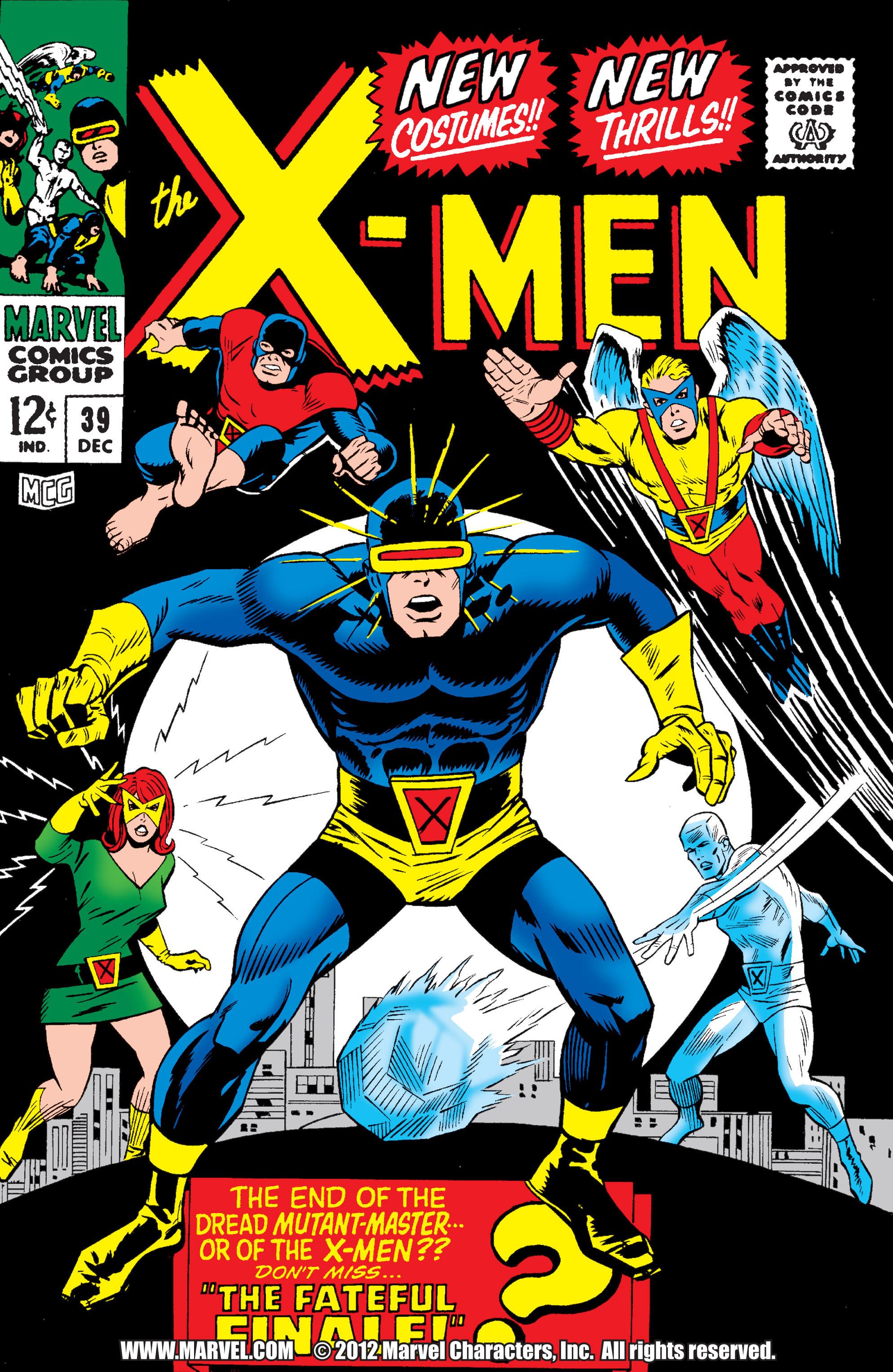 Uncanny X-Men (1963) 39 Page 0
