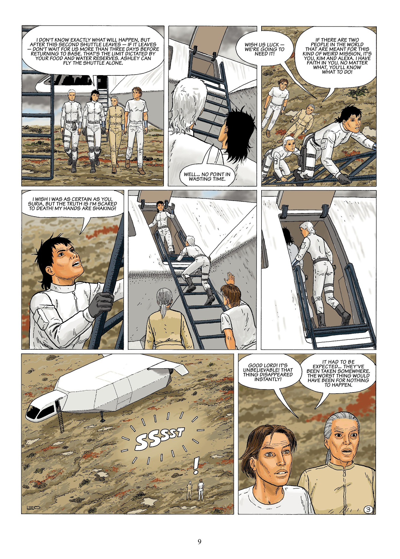 Read online Antares comic -  Issue #6 - 11
