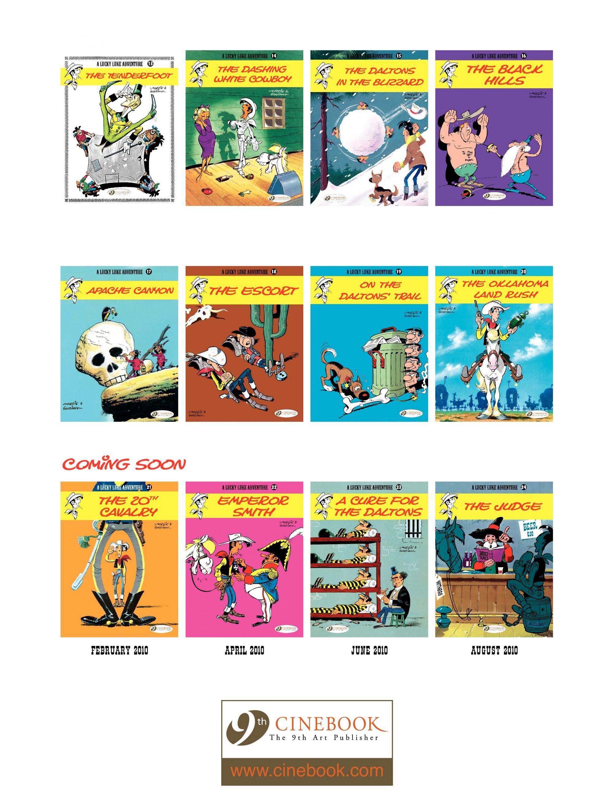 Read online A Lucky Luke Adventure comic -  Issue #20 - 48
